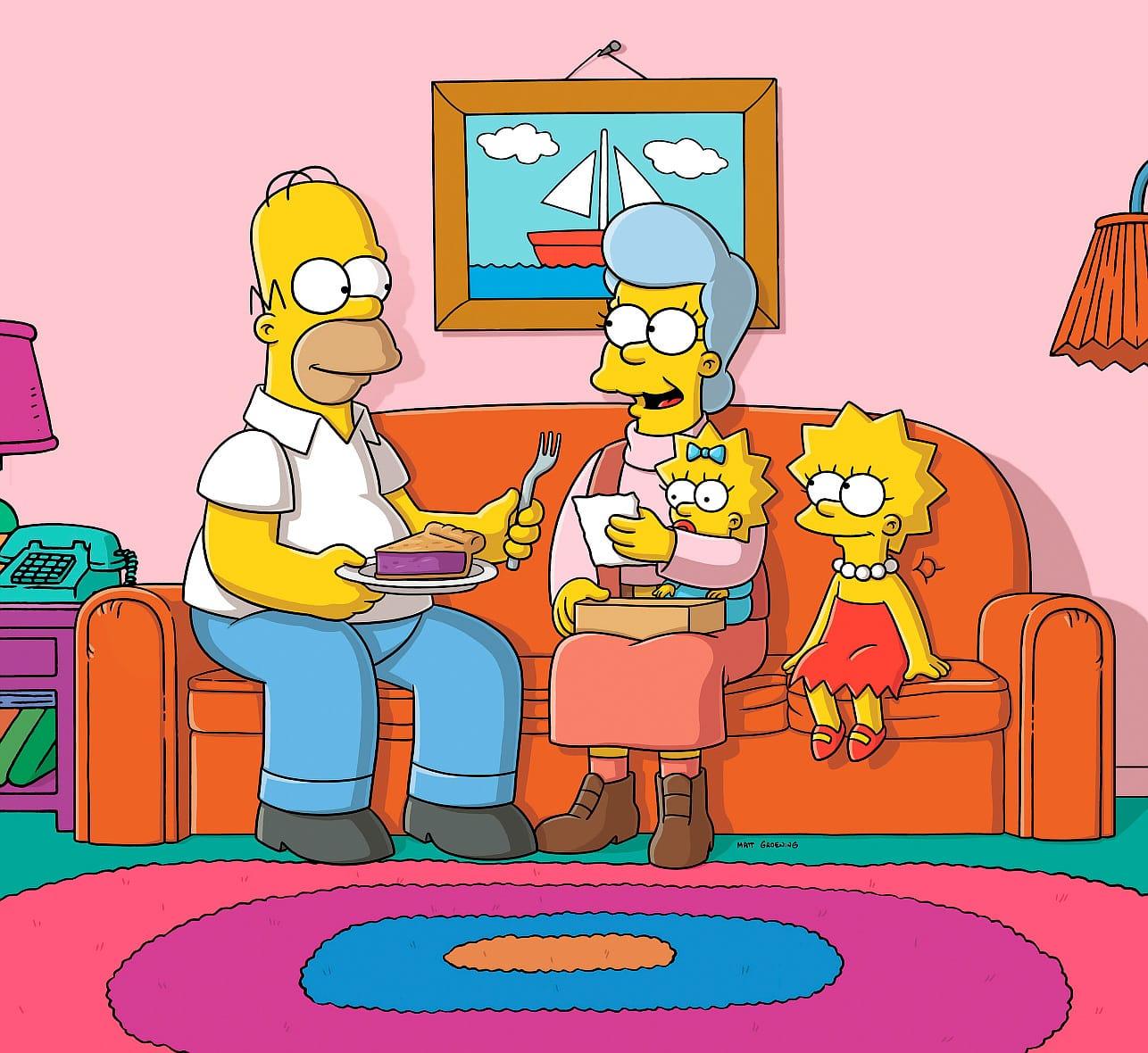Les Simpson - La chorale des péquenots