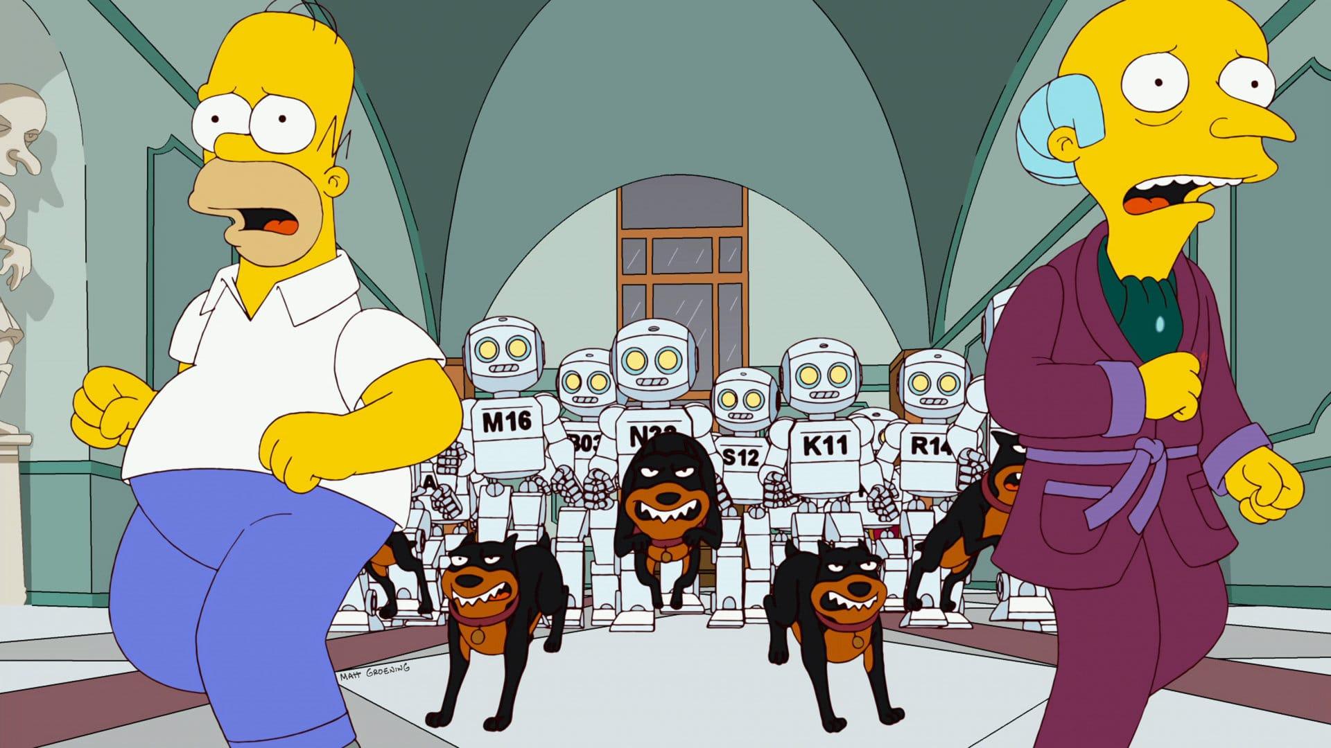 Les Simpson - Aïe robot !