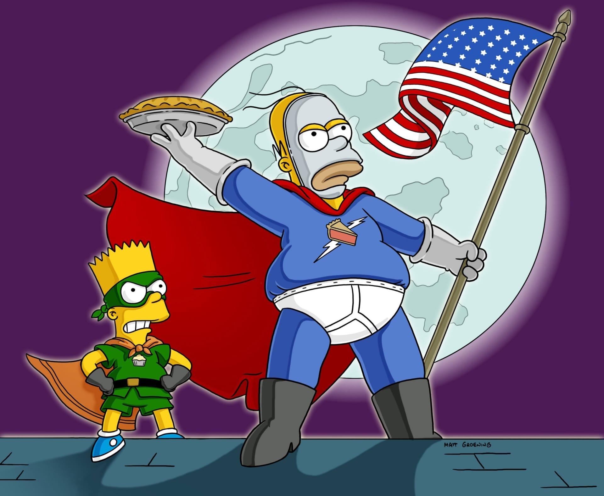 Les Simpson - Tartman, le vengeur masqué