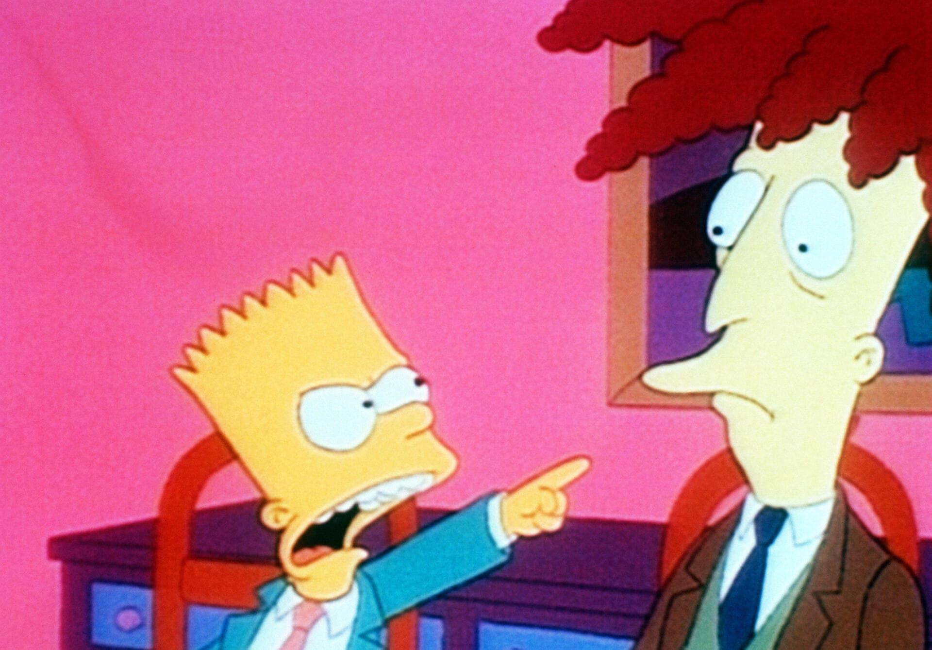 Les Simpson - La veuve noire