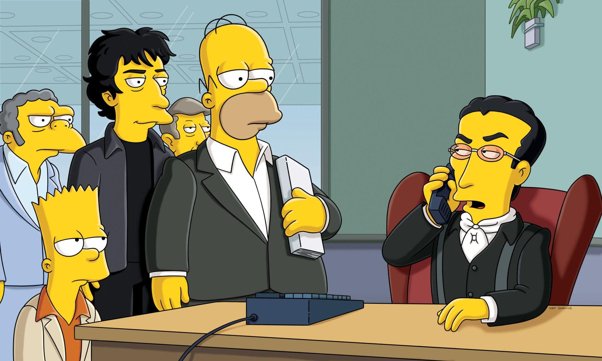 Les Simpson - Le coup du bouquin