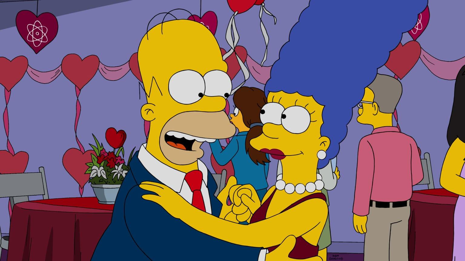 Les Simpson - L'amour est dans le N2-O2-Ar-Co2-Ne-He-CH4