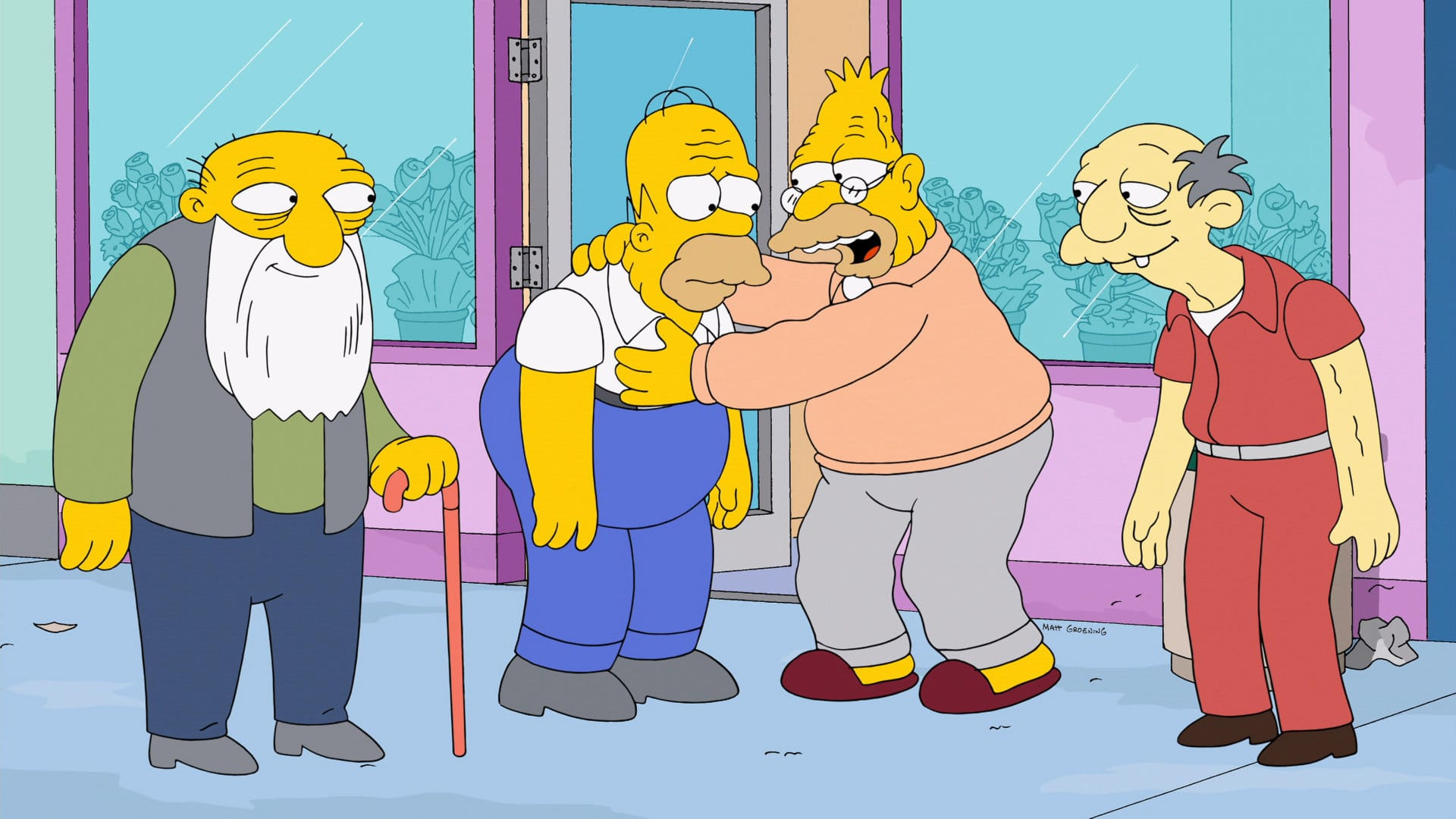 Les Simpson - Un hiver de rêve