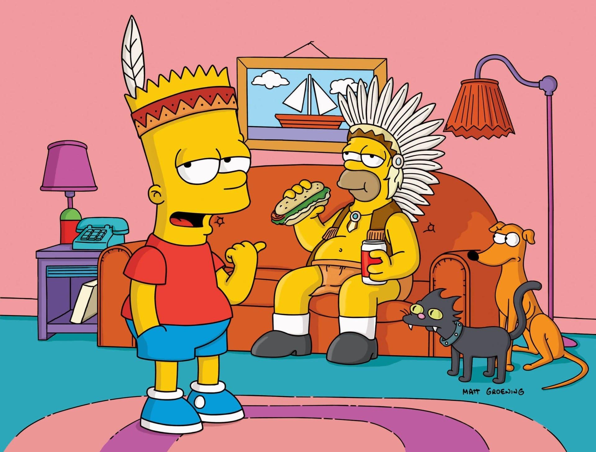 Les Simpson - Homer rentre dans la reine