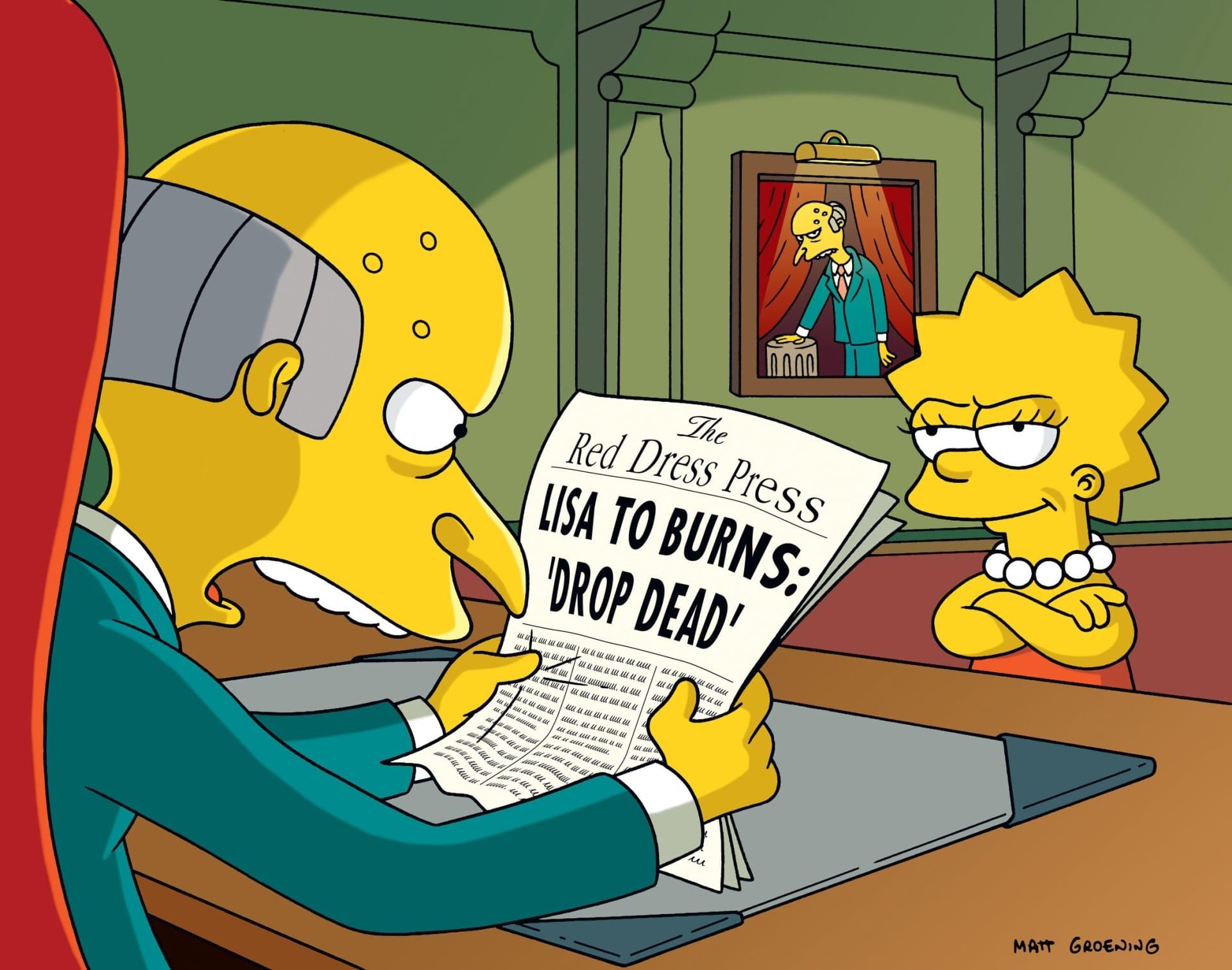 Les Simpson - Fugue pour menottes à quatre mains
