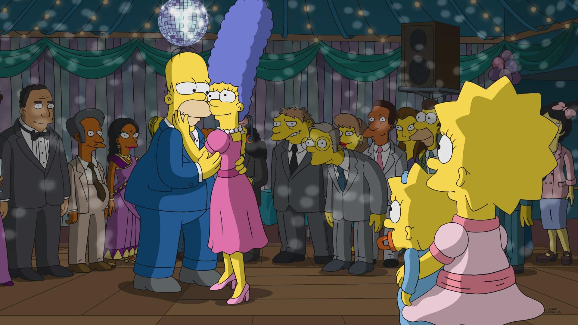 Les Simpson - Je sais danser en gros