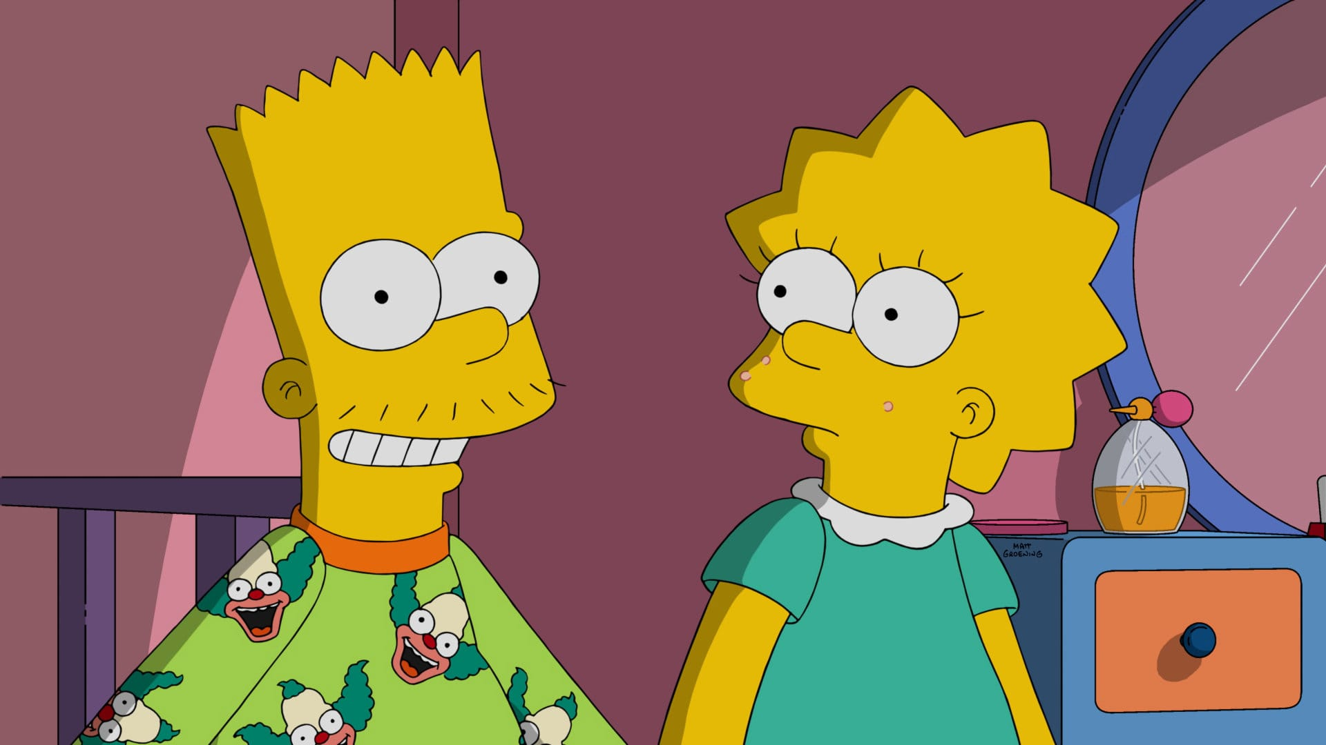 Les Simpson - Chagrin constant