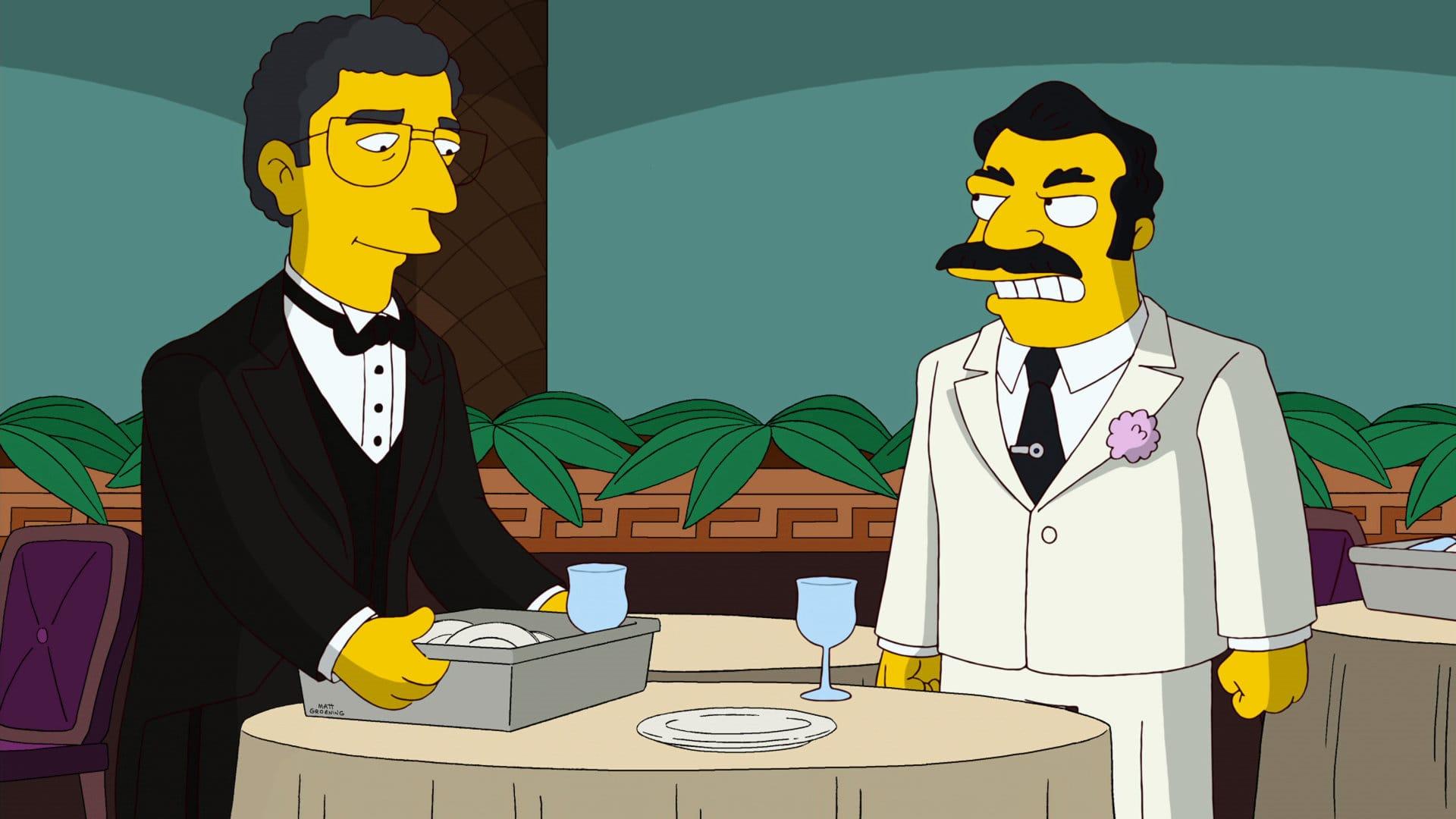 Les Simpson - Gone Papi Gone