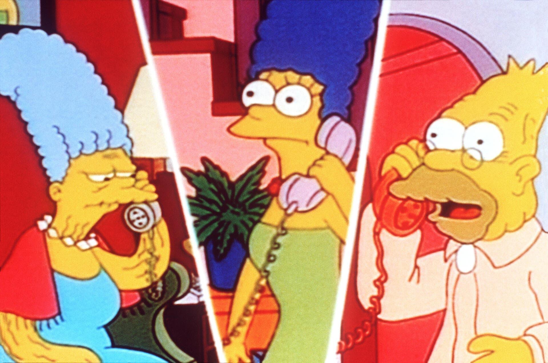 Les Simpson - L'amoureux de grand-mère
