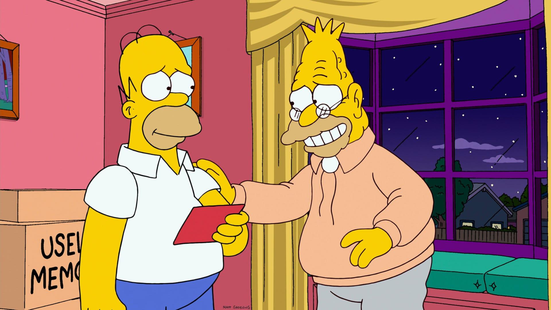 Les Simpson - Nom d'un chien