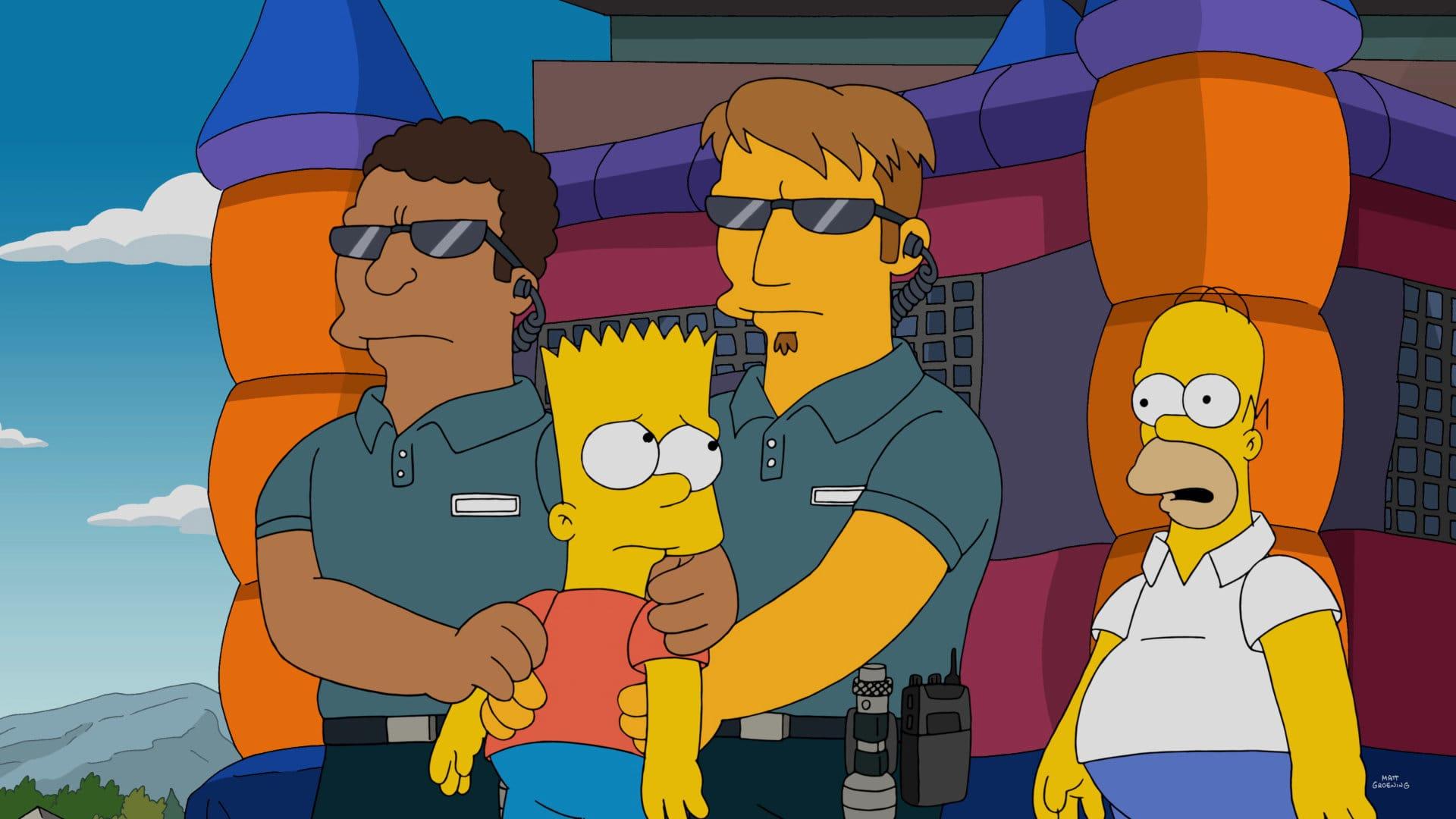 Les Simpson - Les chemins de la gloire