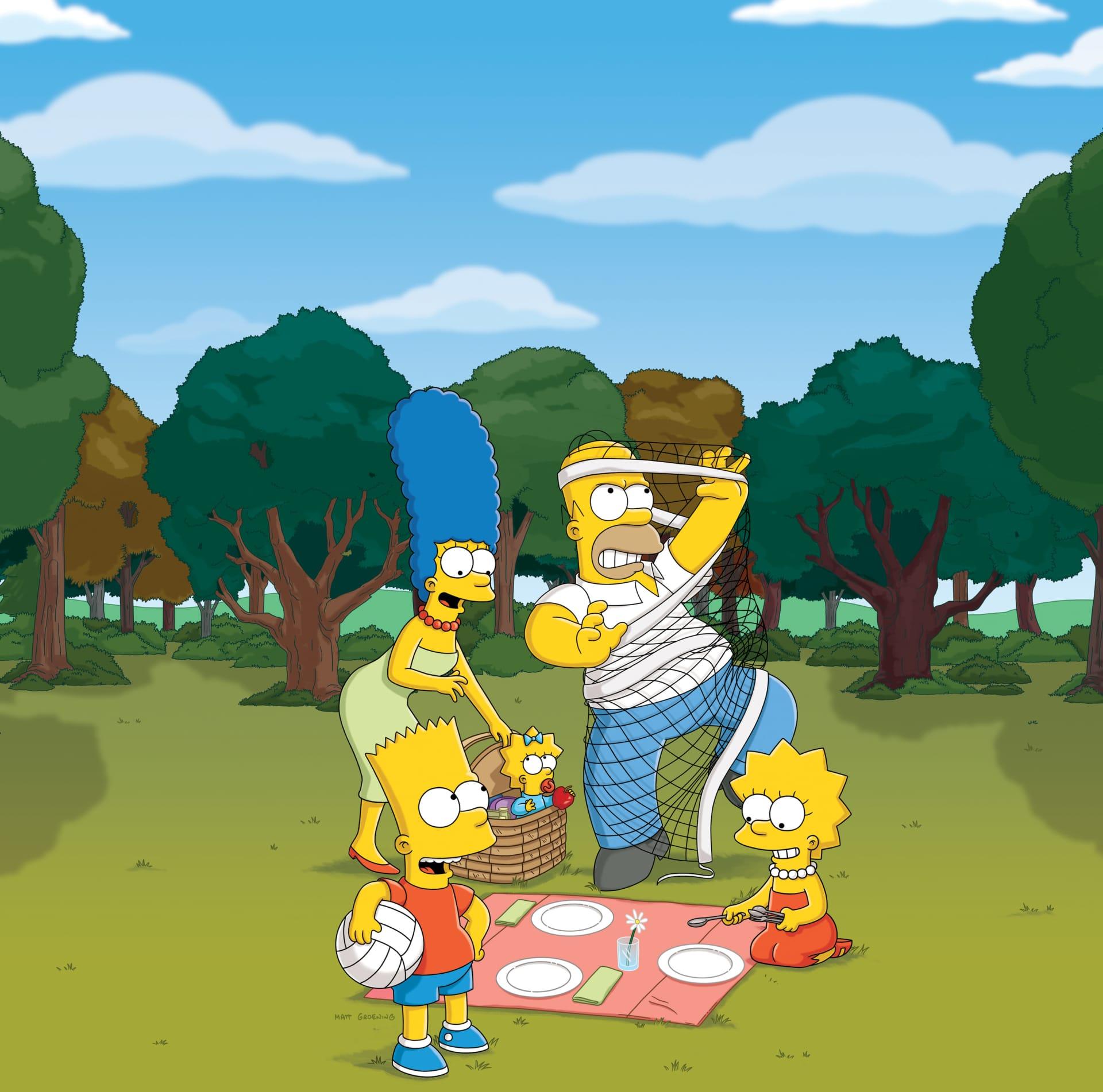 Les Simpson - Les deux font le père