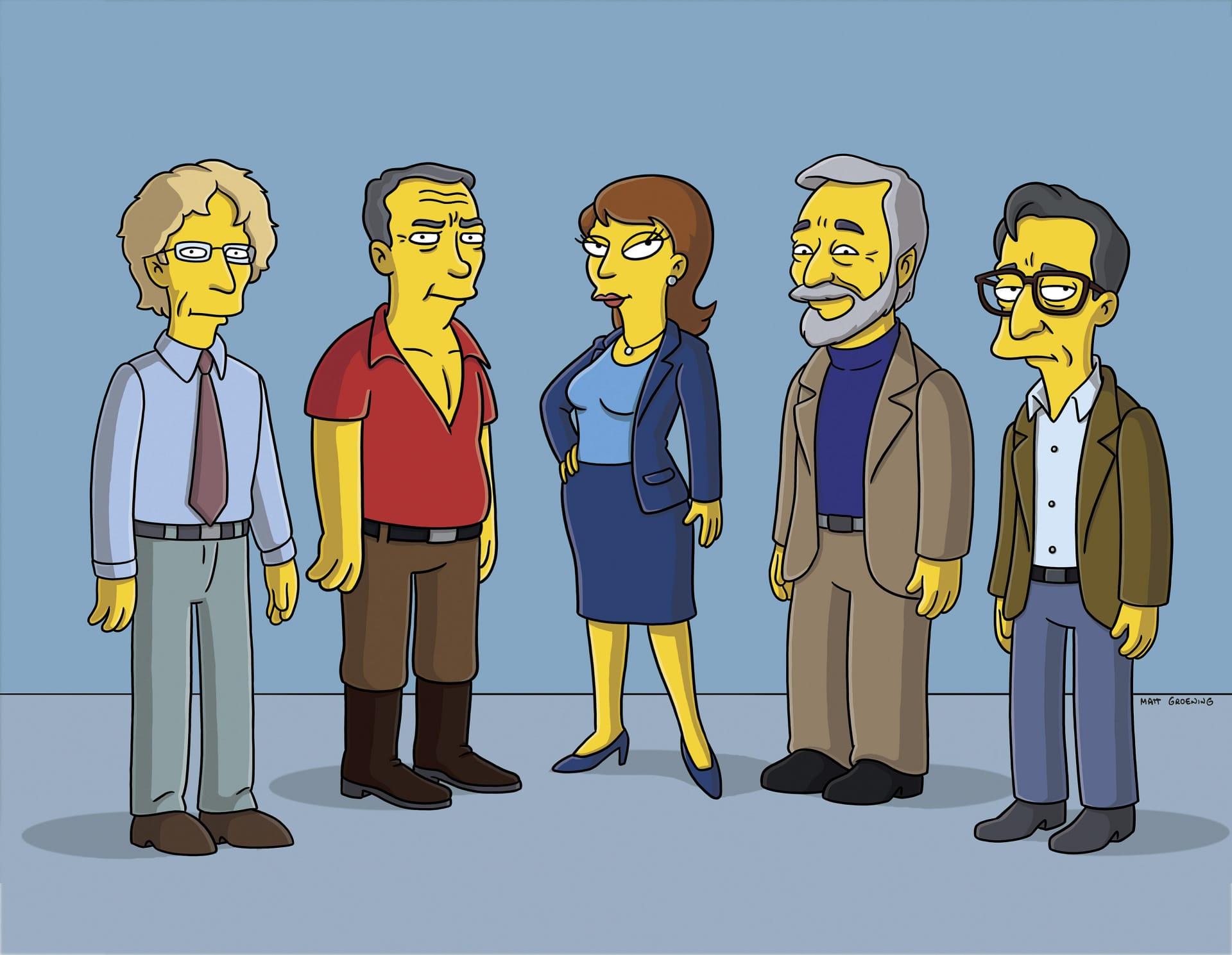 Les Simpson - Mariage plus vieux, mariage heureux