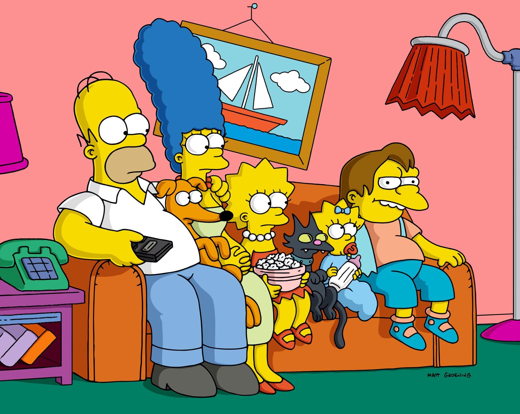 Les Simpson - Les Aqua-tics à mer !