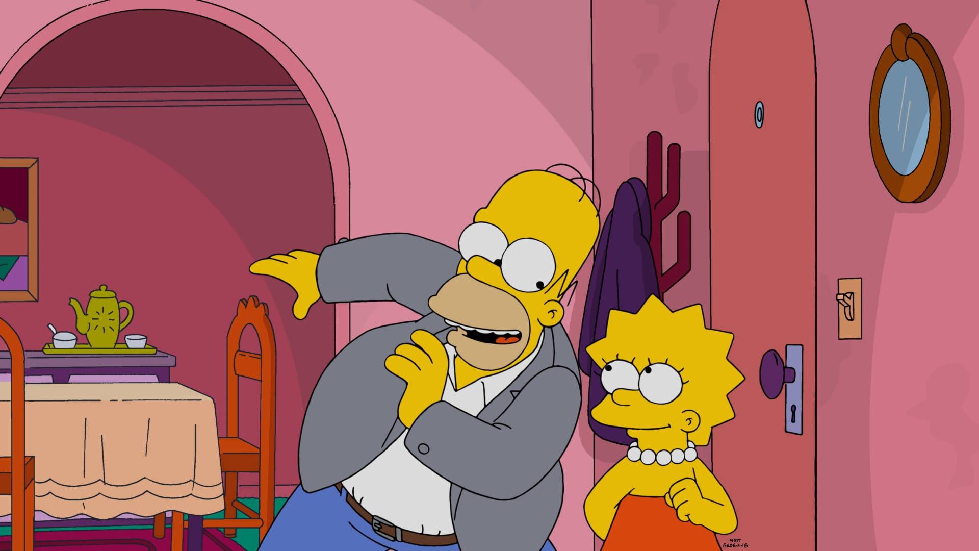 Les Simpson - Lisa avec un s