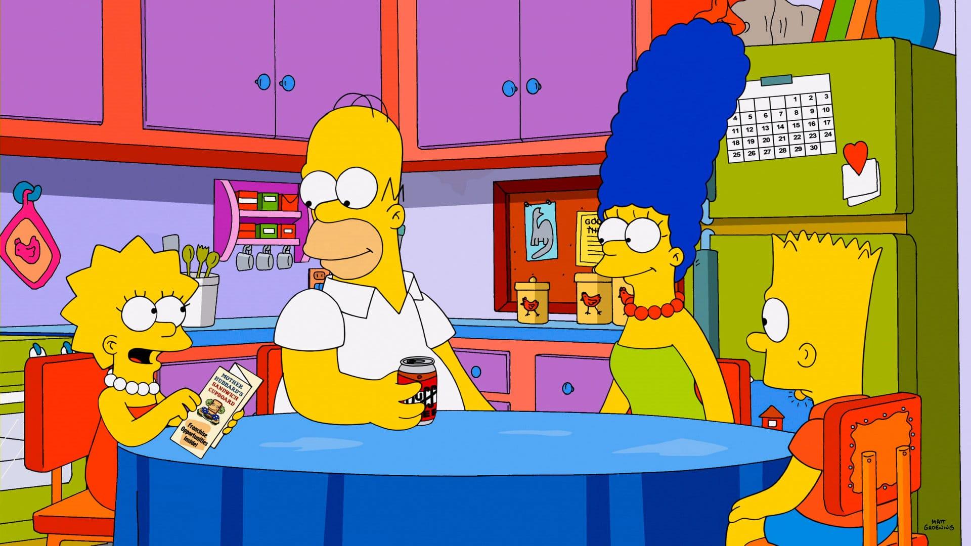 Les Simpson - Super franchise-moi