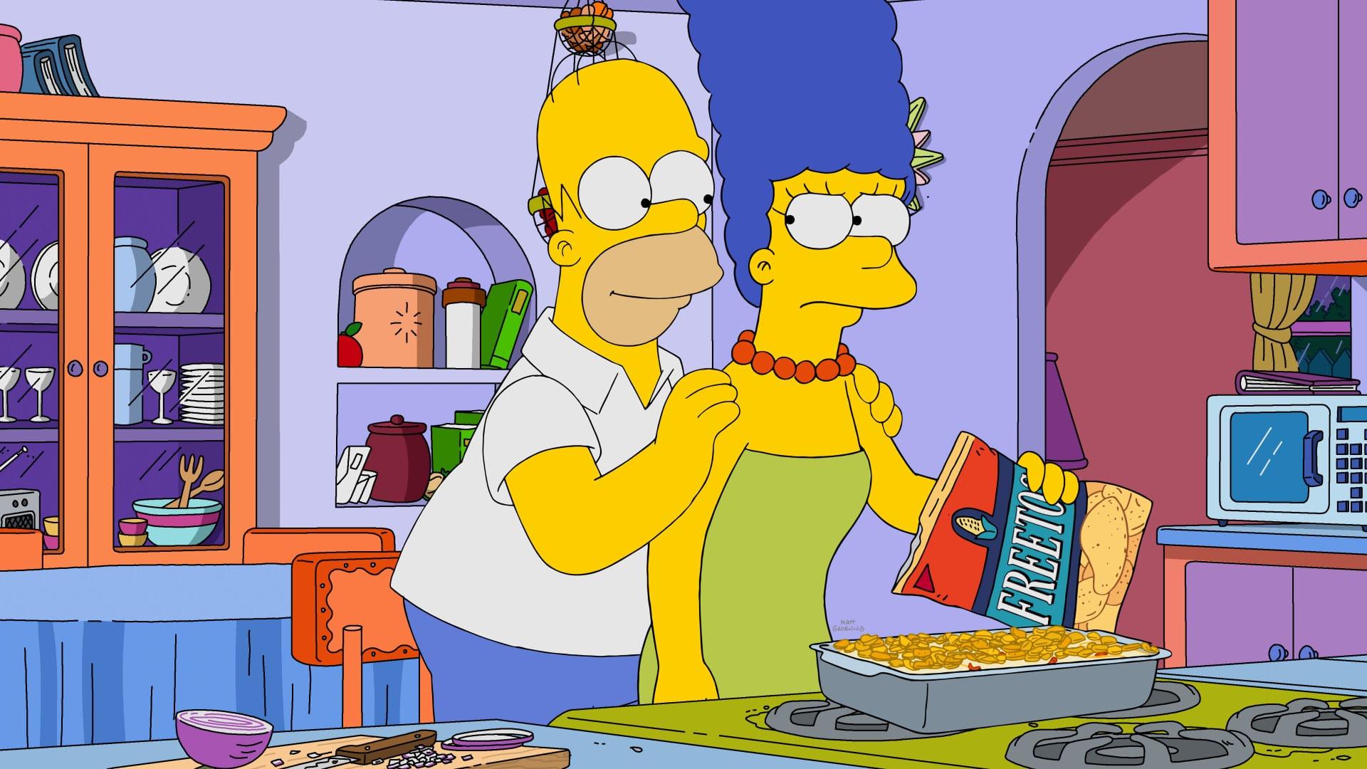 Les Simpson - Vise haut ou vise Homer