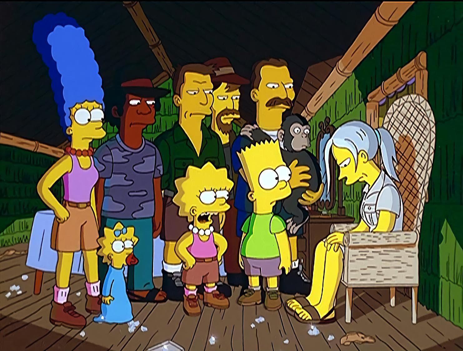 Les Simpson - Le safari des Simpson