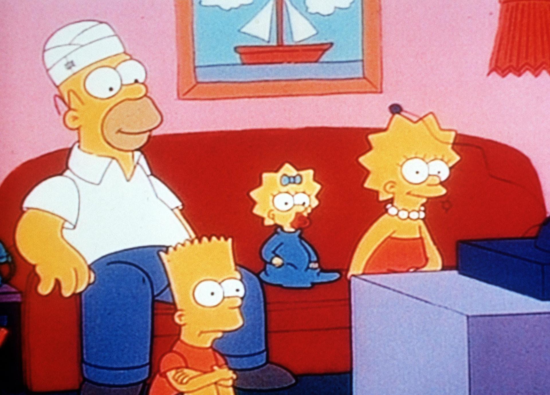 Les Simpson - Tous à la manif