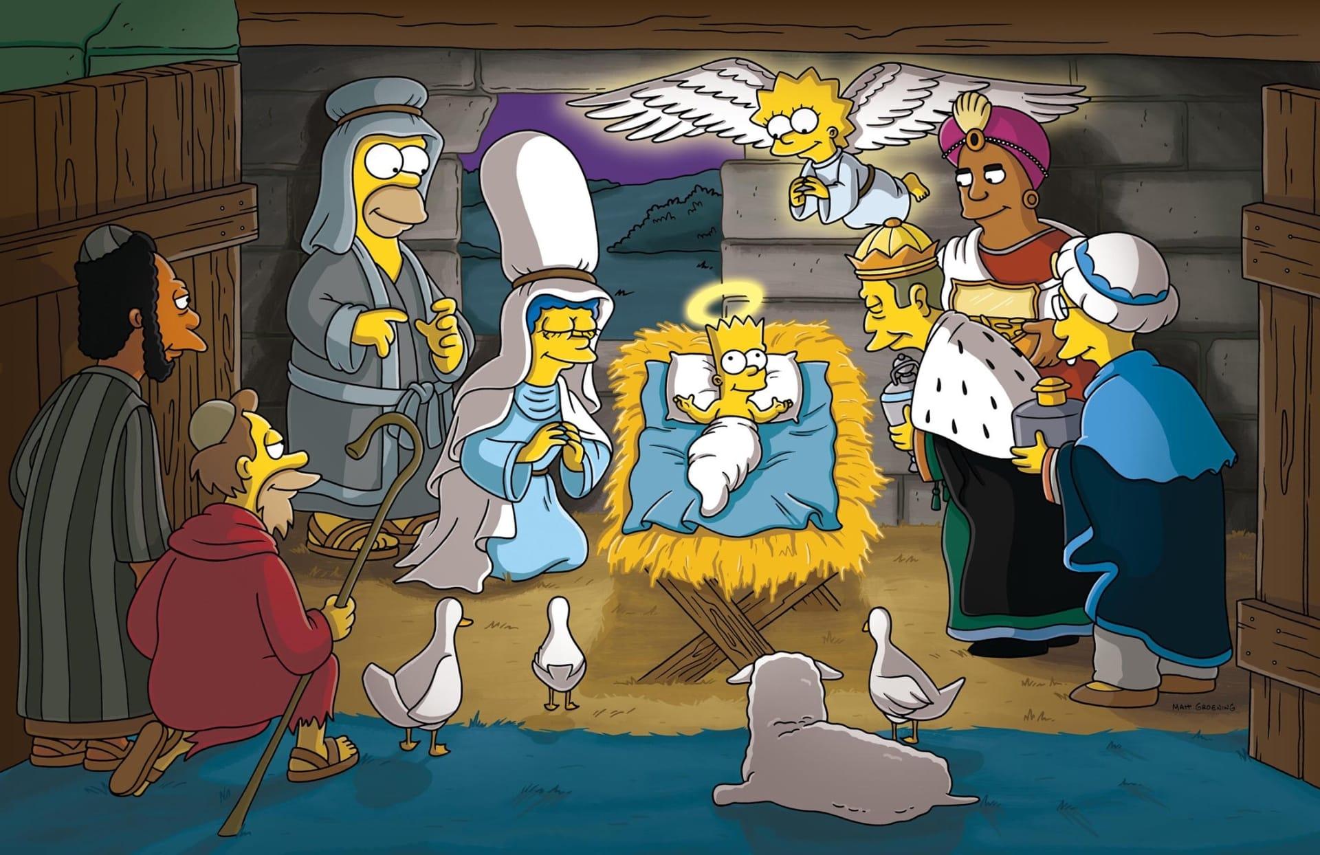 Les Simpson - Histoires de Noël