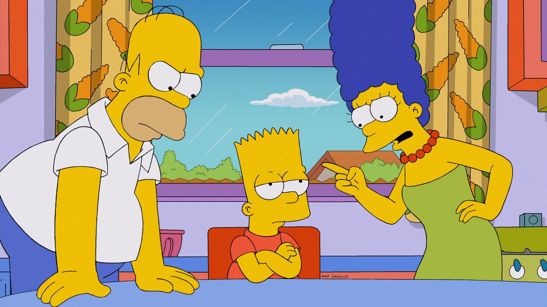 Les Simpson - Charmeur grand-père