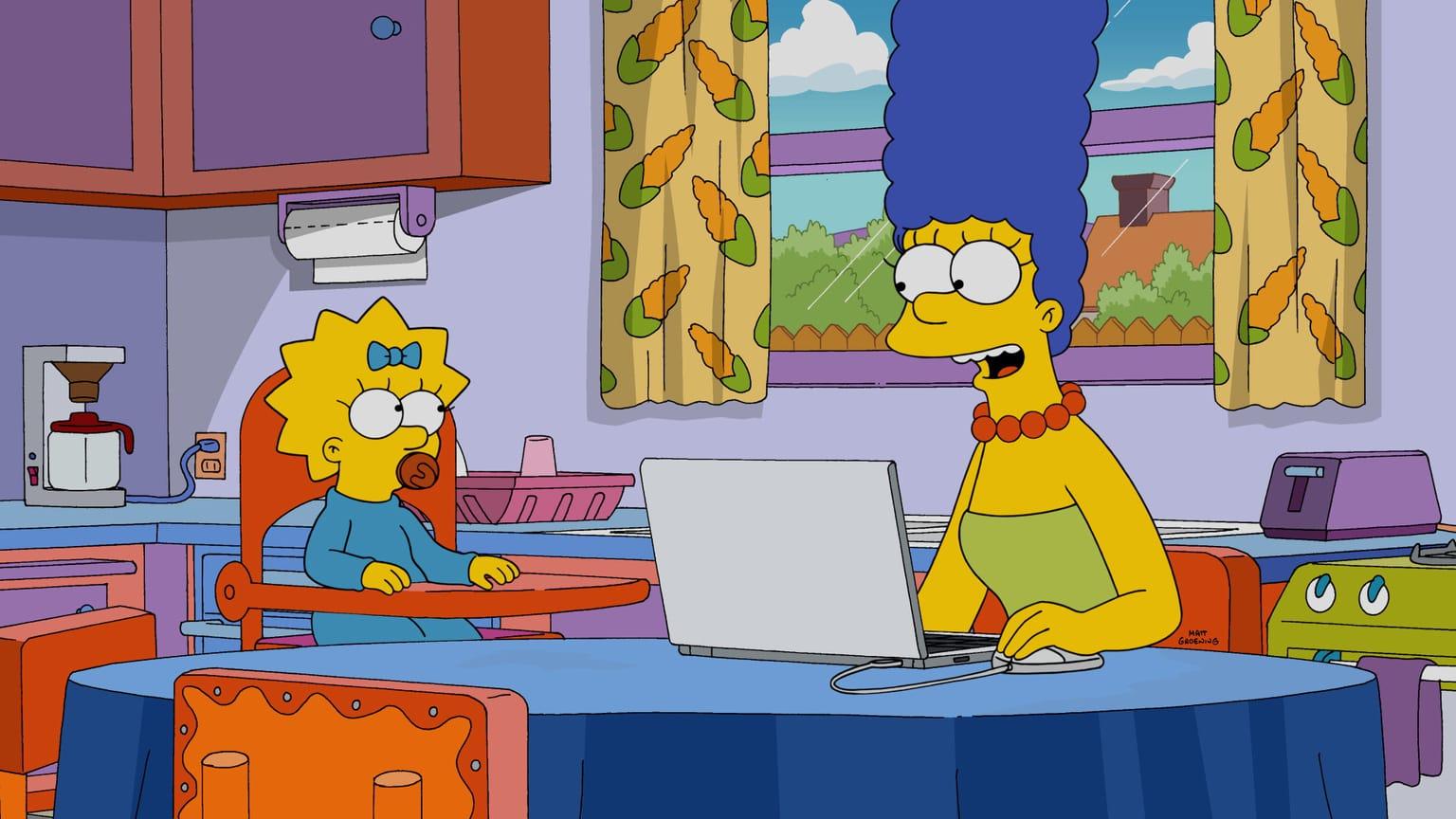 Les Simpson - Code fille