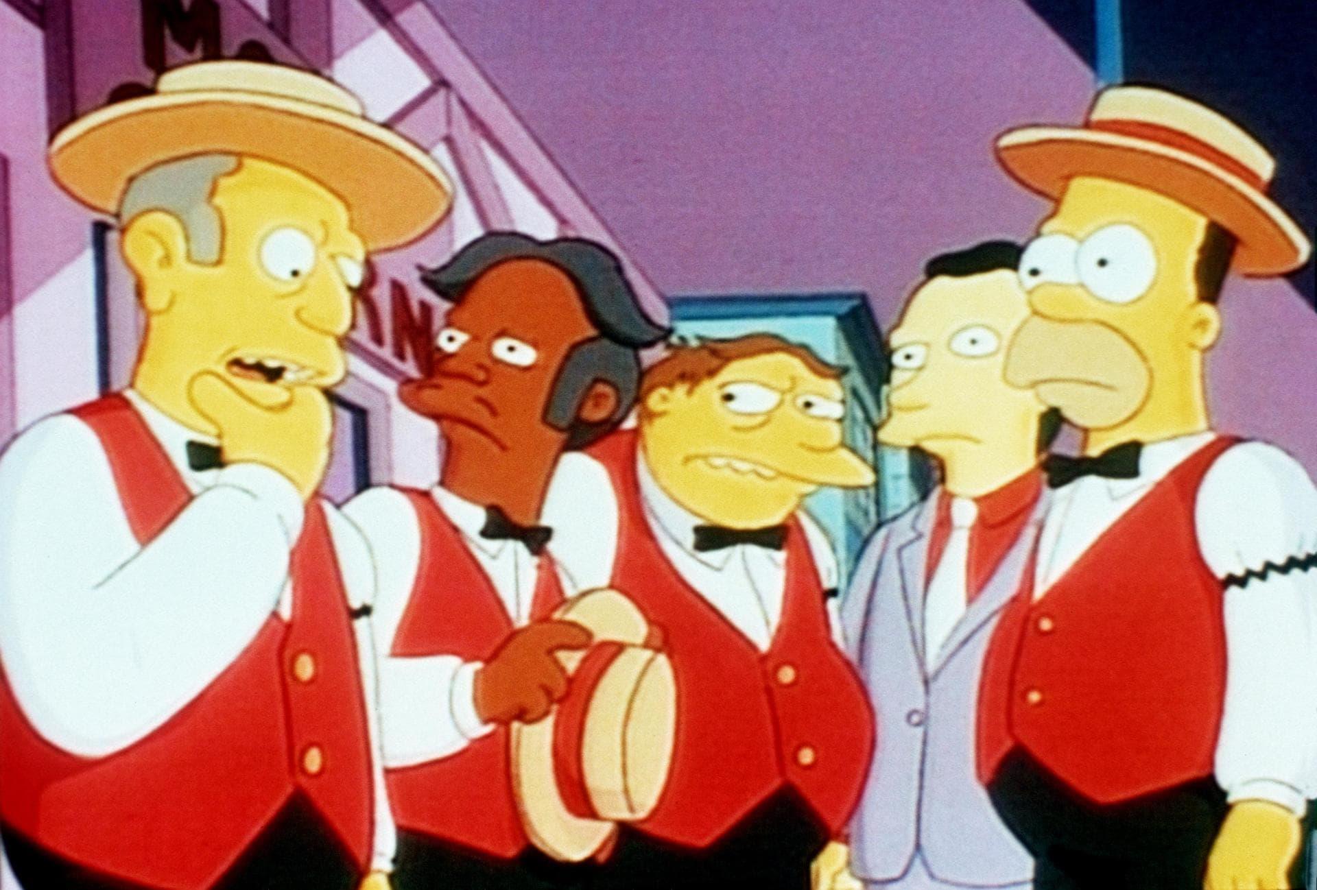 Les Simpson - Le quatuor d'Homer