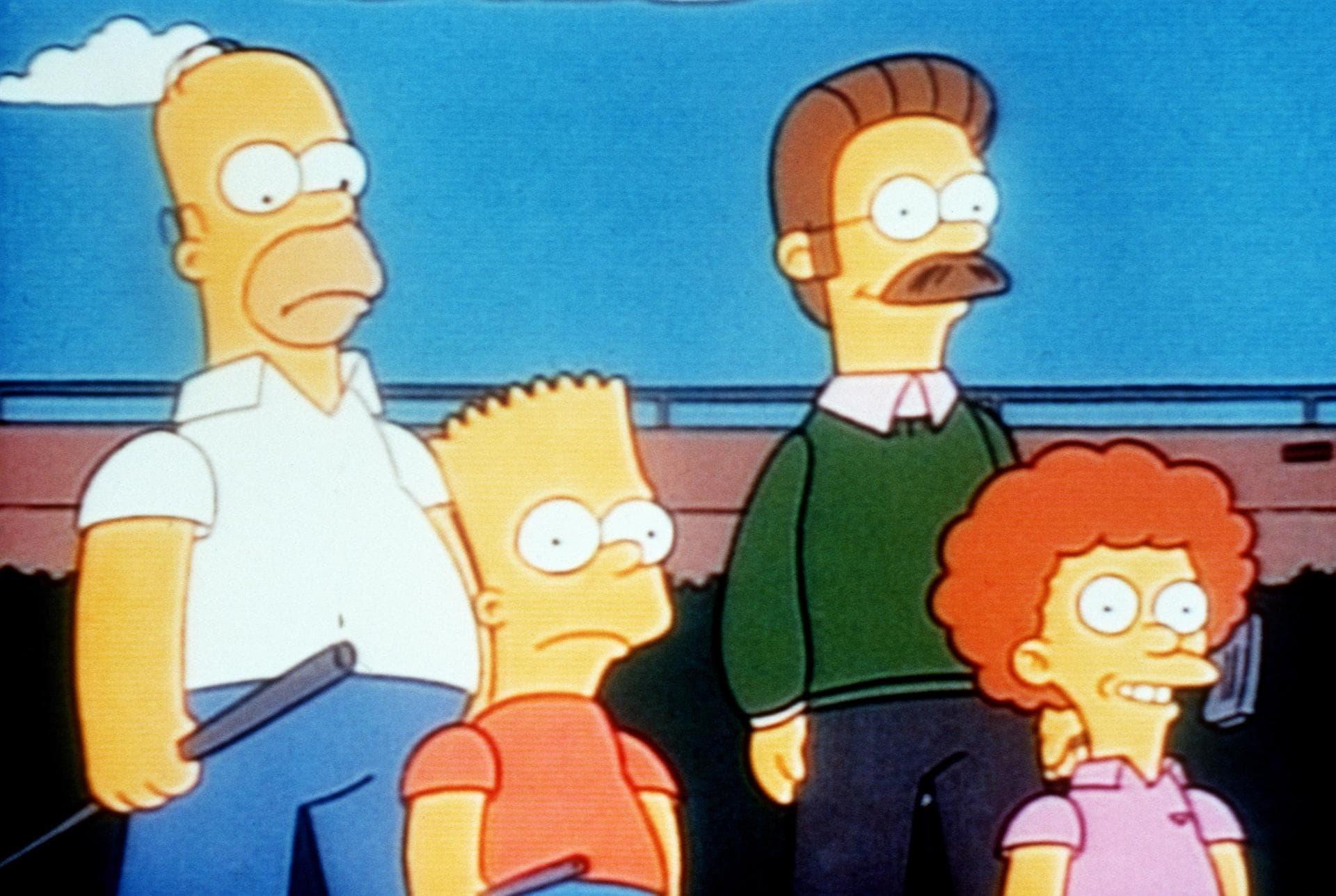 Les Simpson - Un amour de grand-père