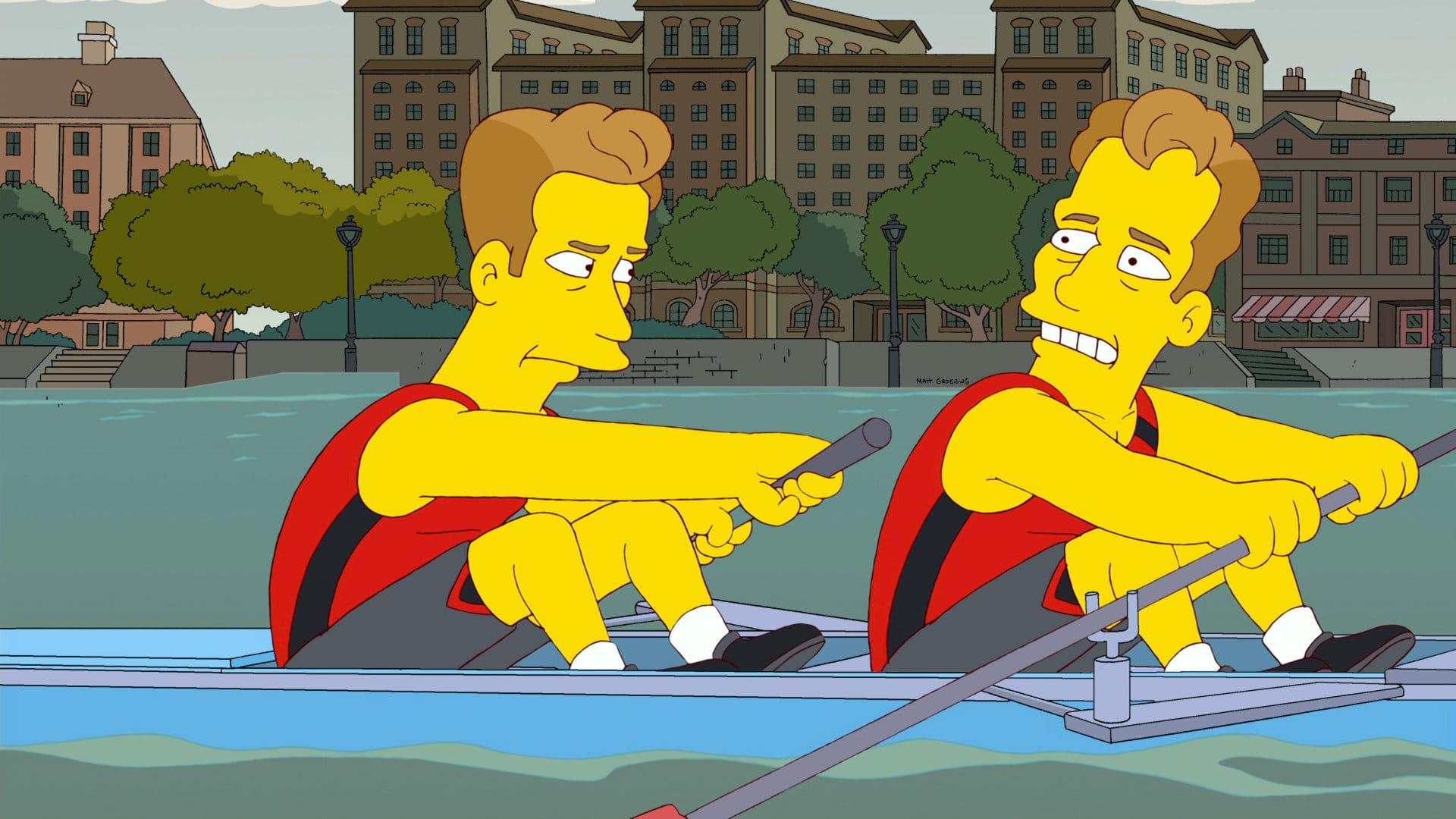 Les Simpson - Le Rest'oh social