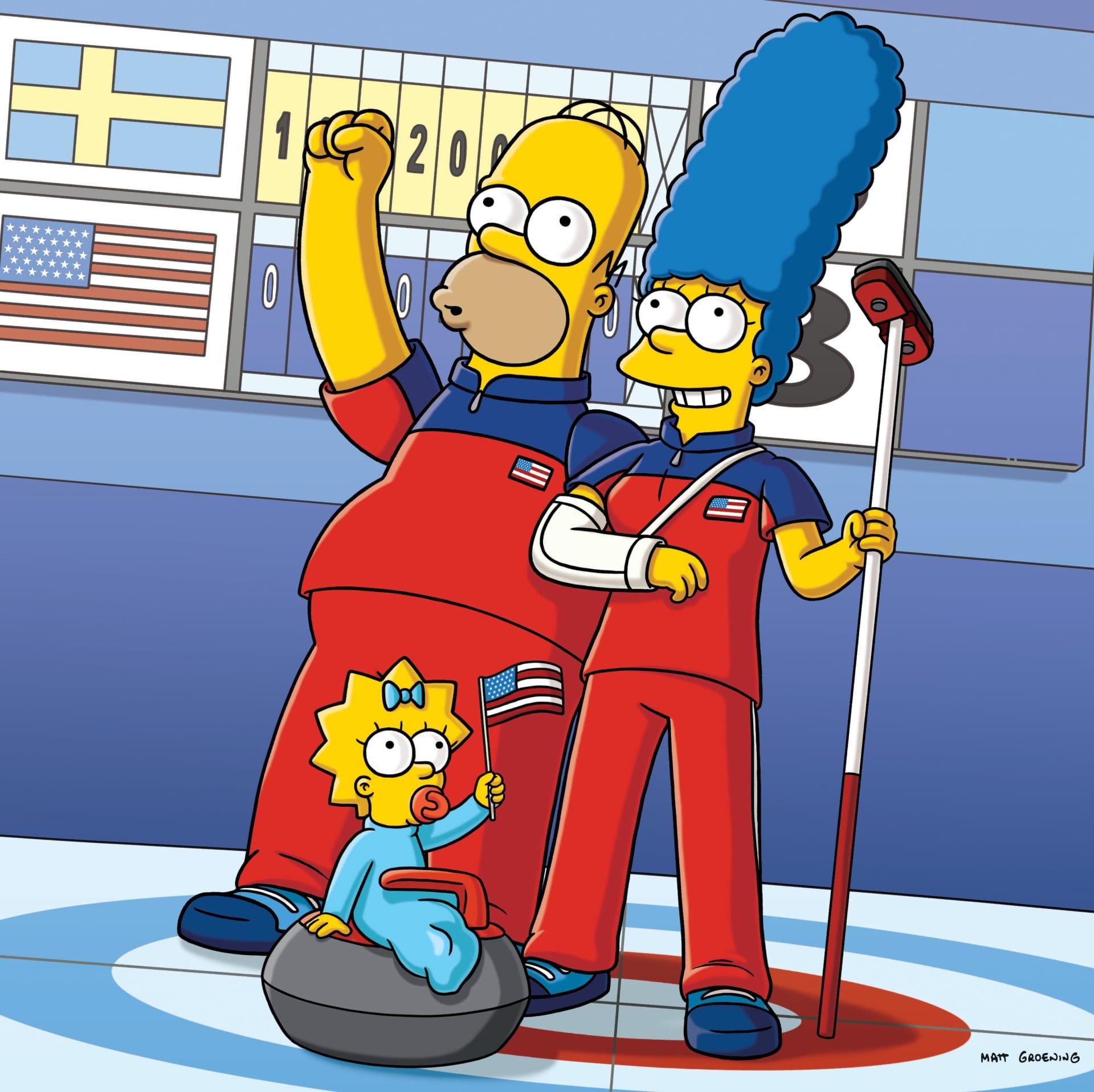 Les Simpson - La reine du balai