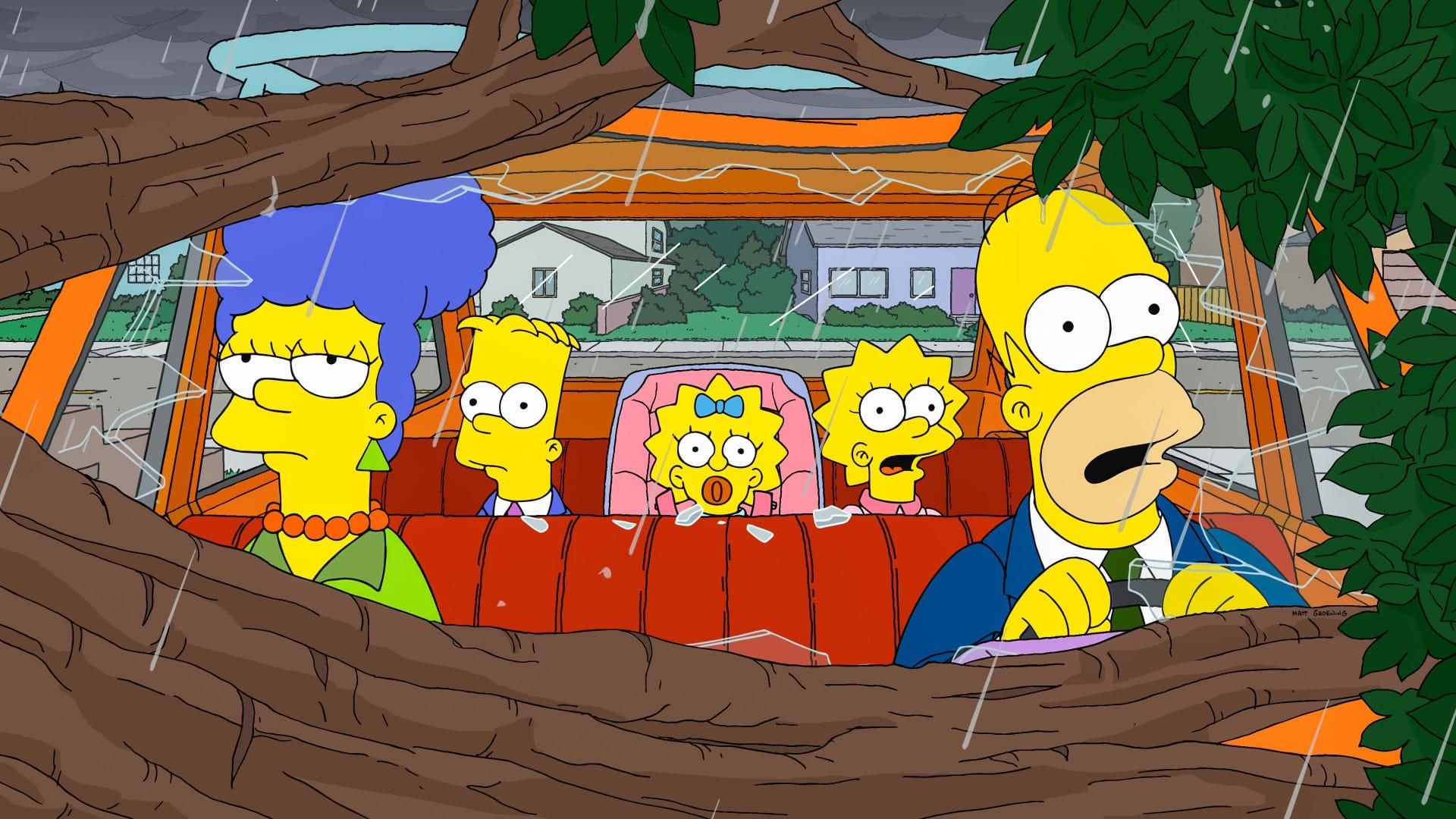 Les Simpson - Marge la bûcheronne