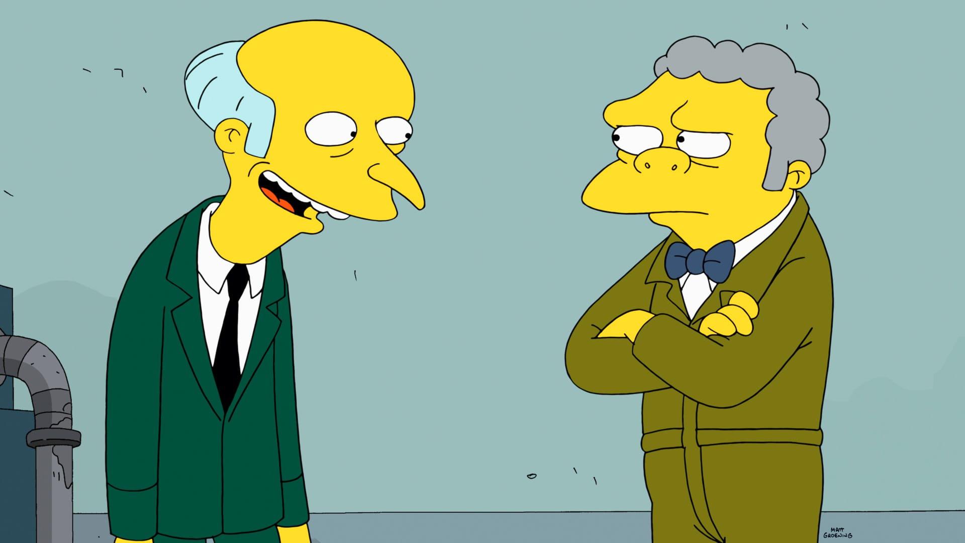 Les Simpson - Le baby-sitter
