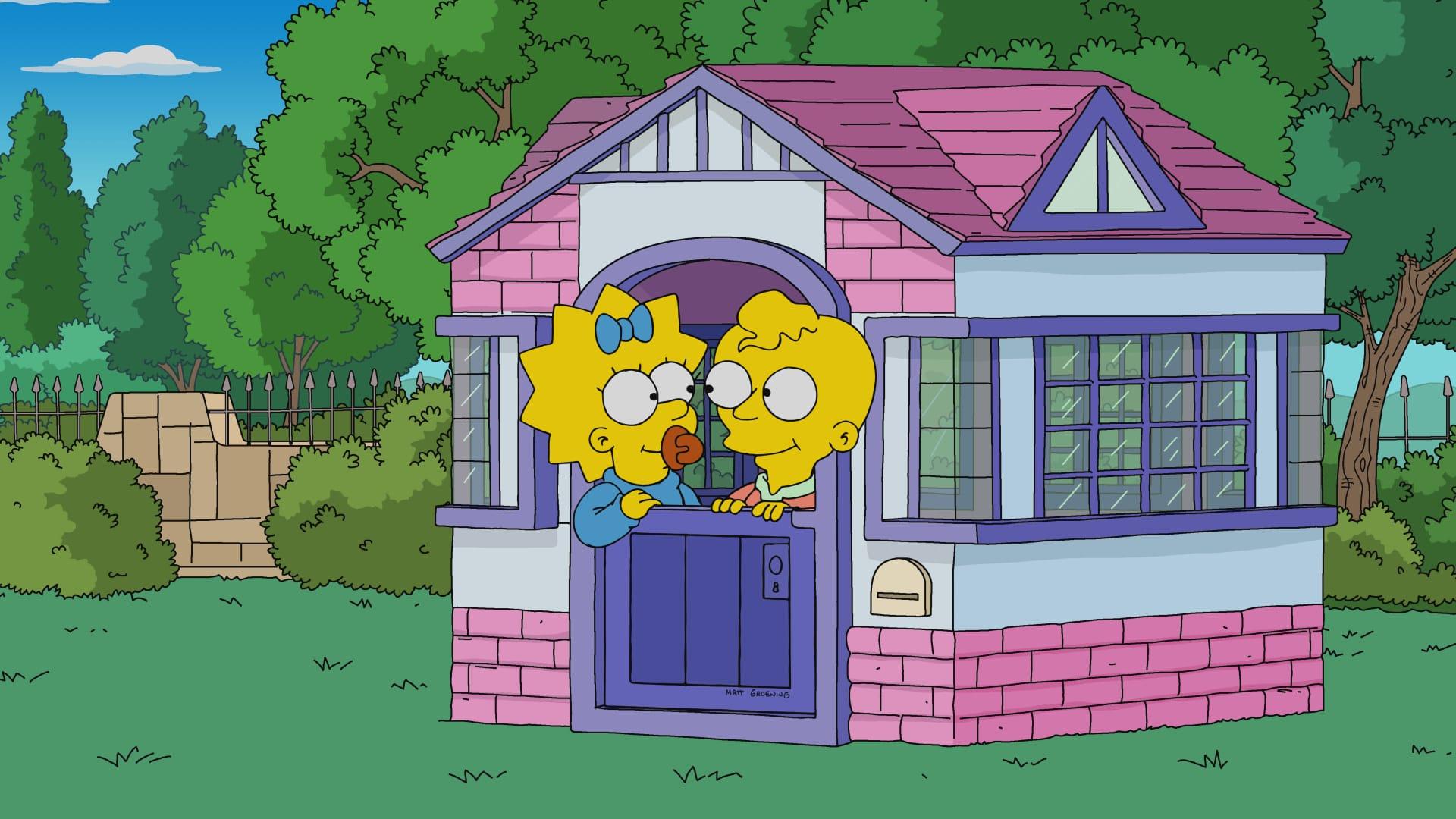 Les Simpson - L'incroyable légèreté d'être un bébé