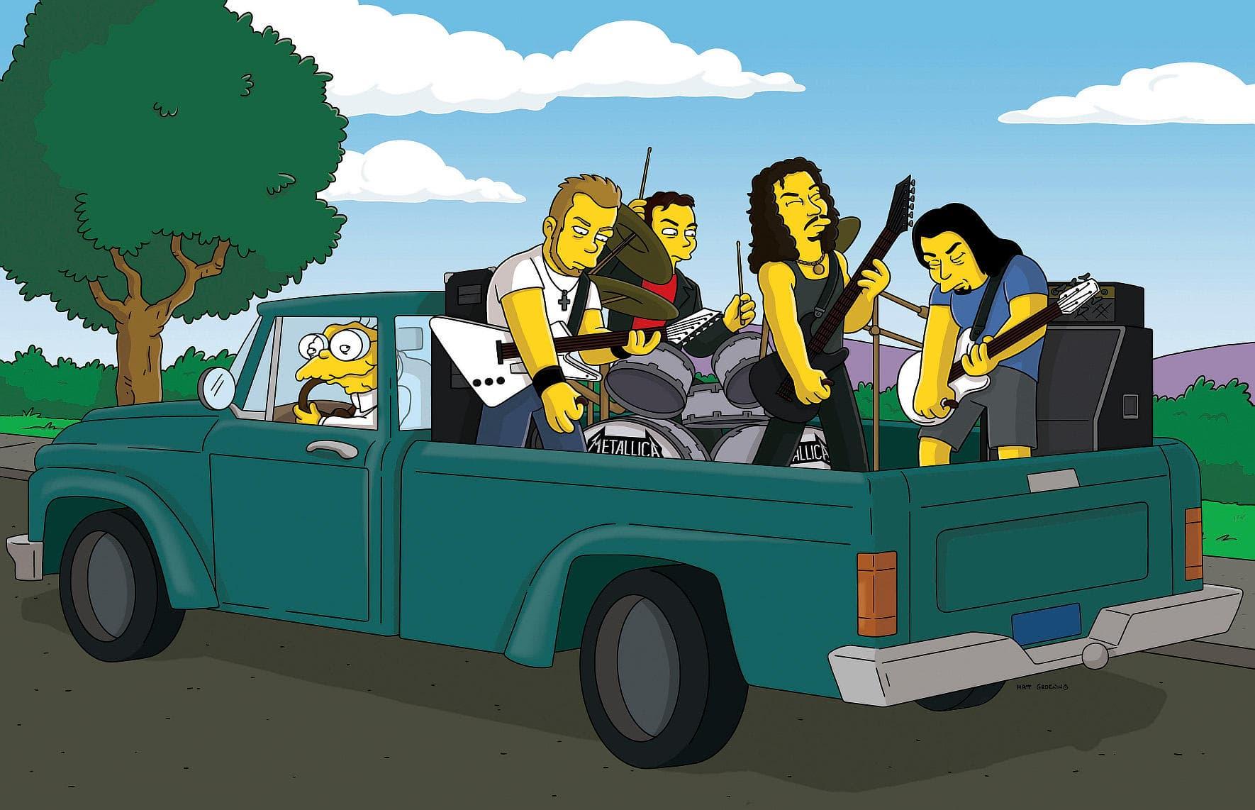 Les Simpson - Parrain par intérim