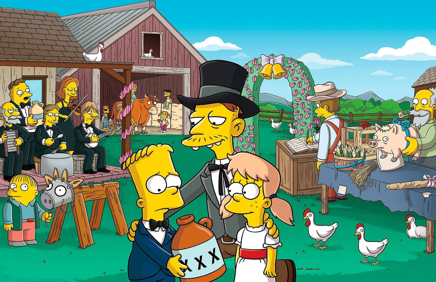 Les Simpson - Une histoire fumeuse
