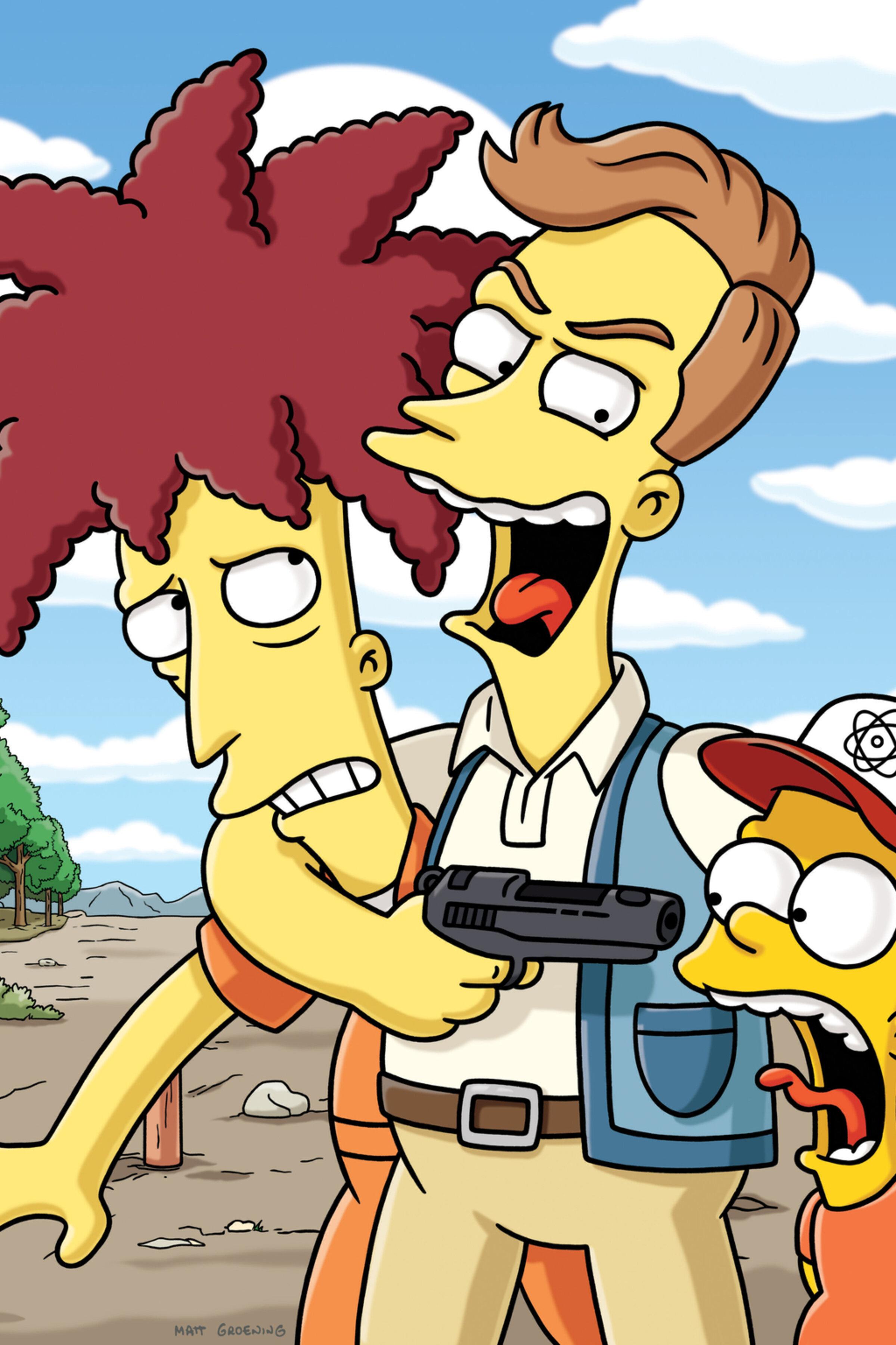 Les Simpson - Baiser volé