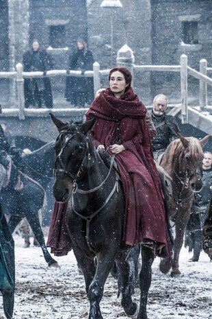 Game of Thrones - La femme rouge