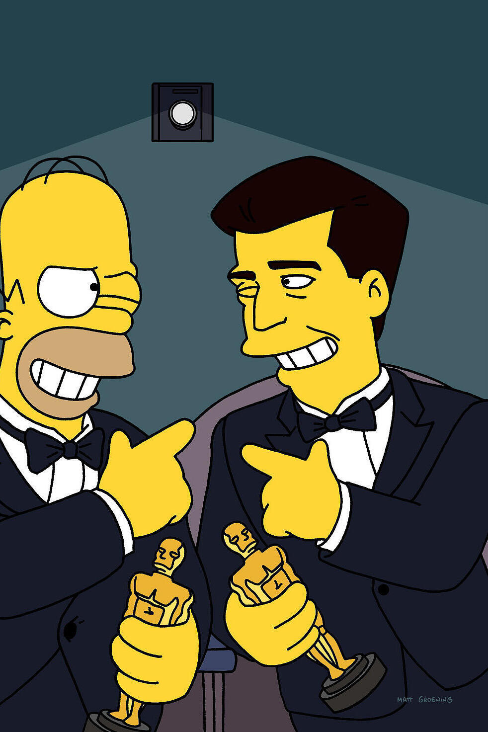 Les Simpson - Mel Gibson les cloches