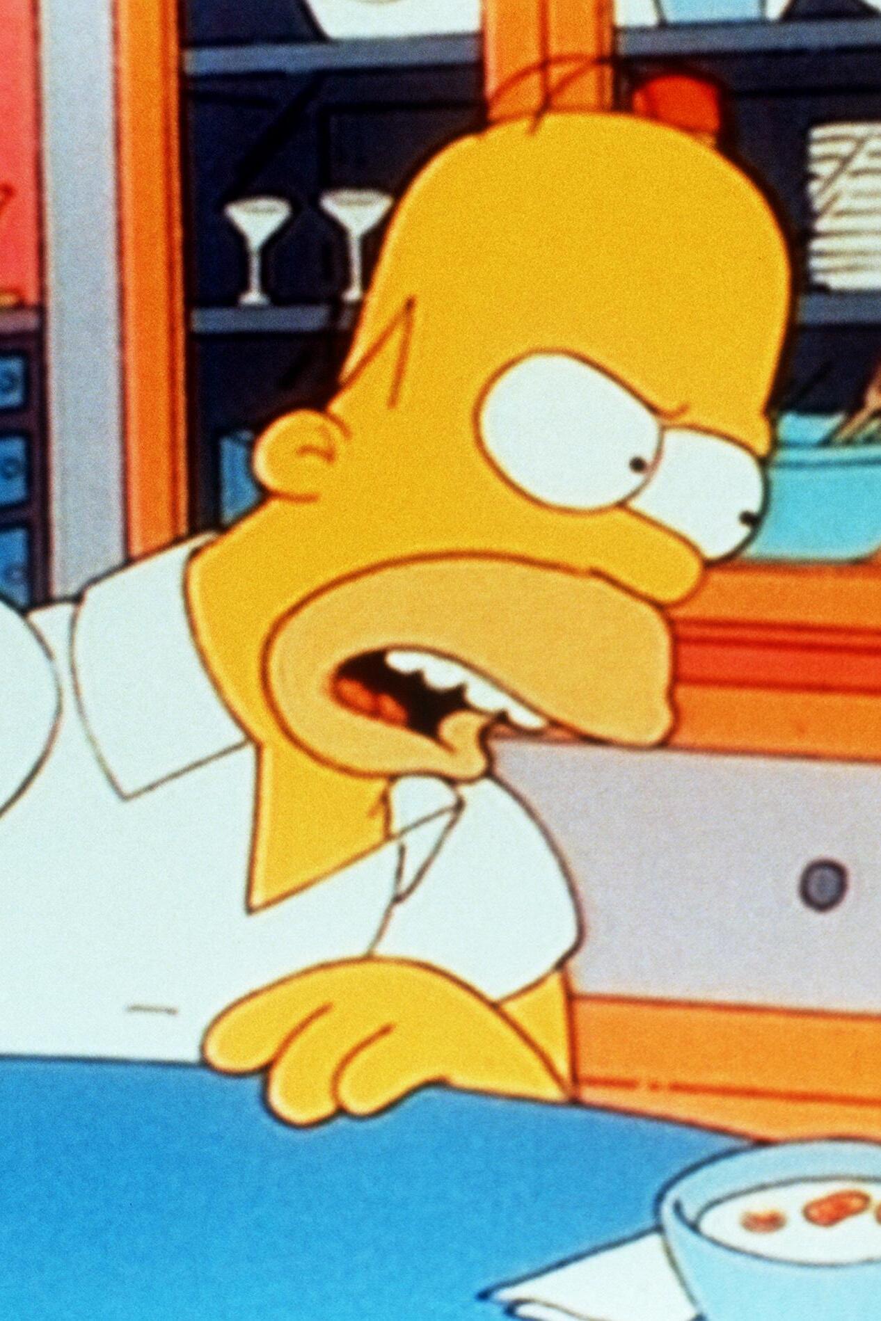Les Simpson - Salut l'artiste