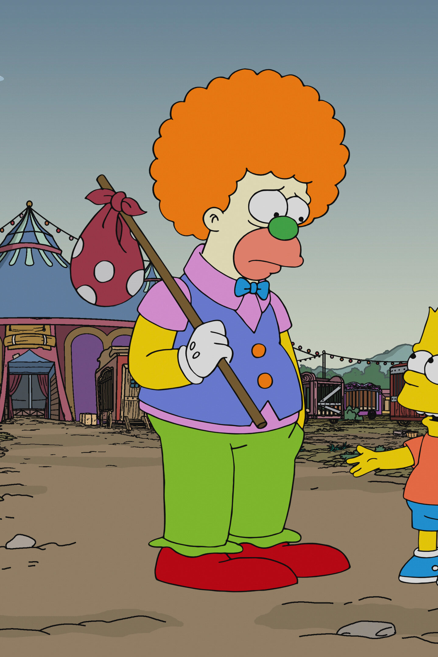 Les Simpson - Krusty le clown