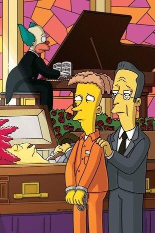 Les Simpson - Funérailles pour un félon