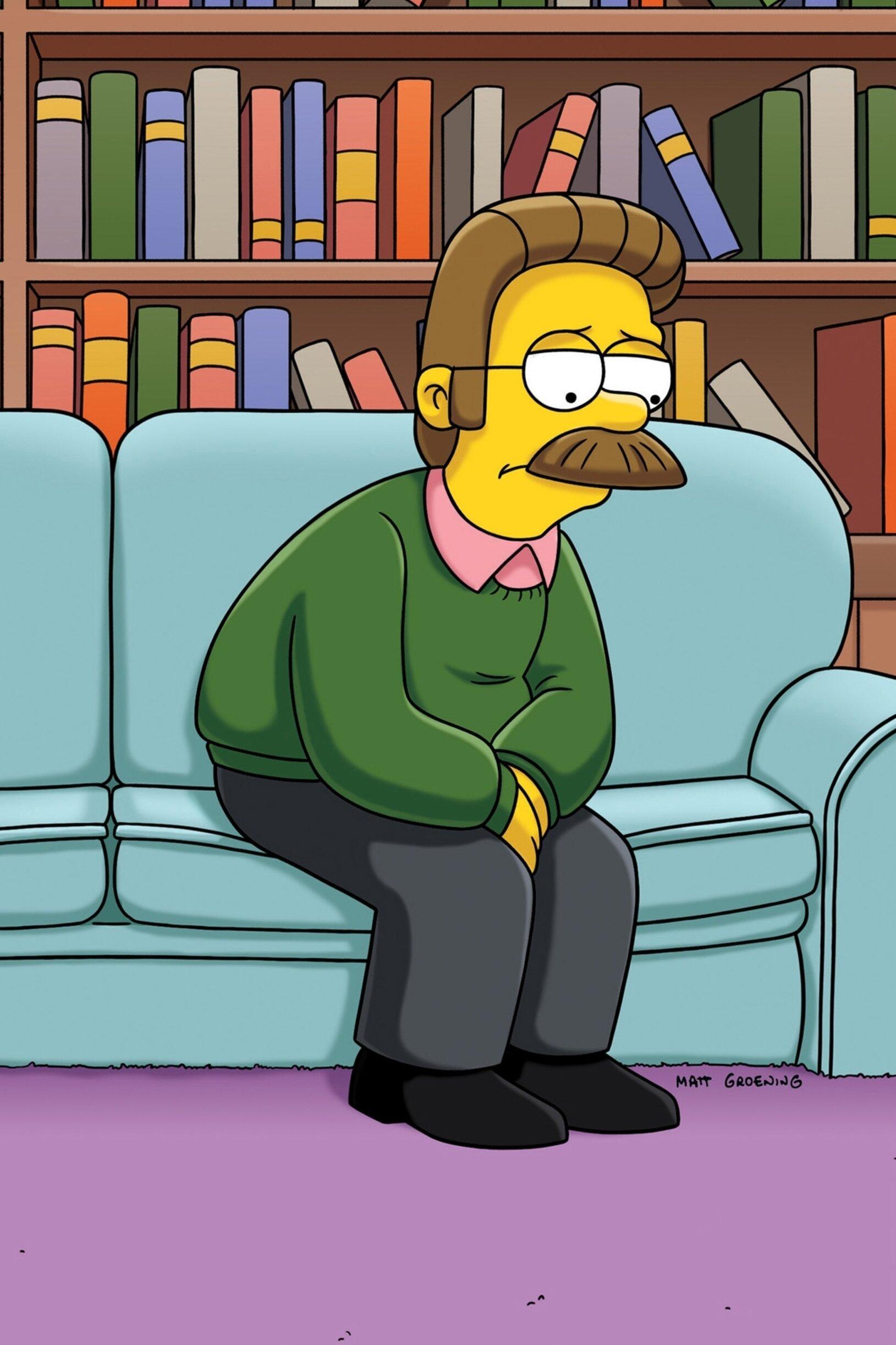 Les Simpson - La pêche au Ned