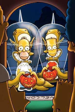 Les Simpson - Simpson Horror Show X