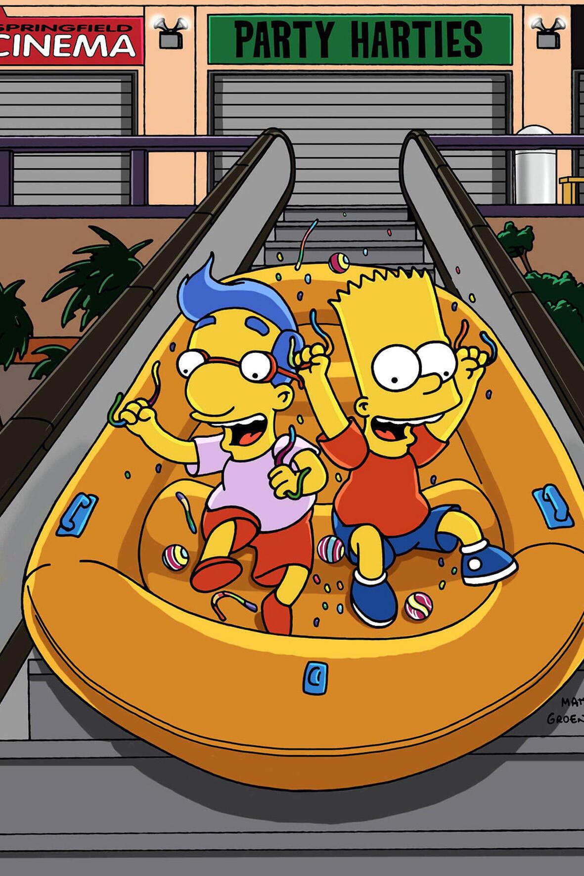 Les Simpson - Tais-toi et danse !