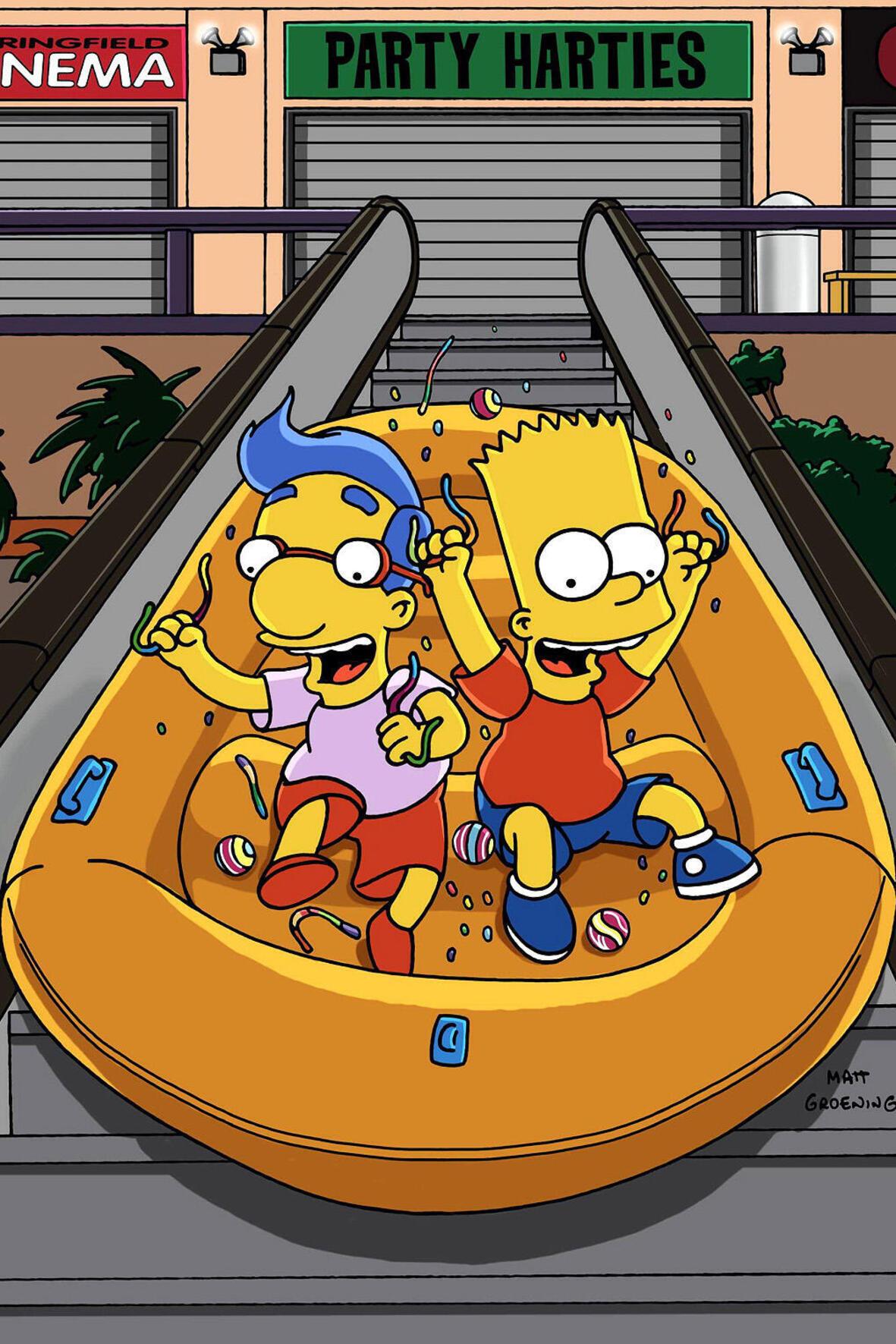 Les Simpson - La garderie d'Homer