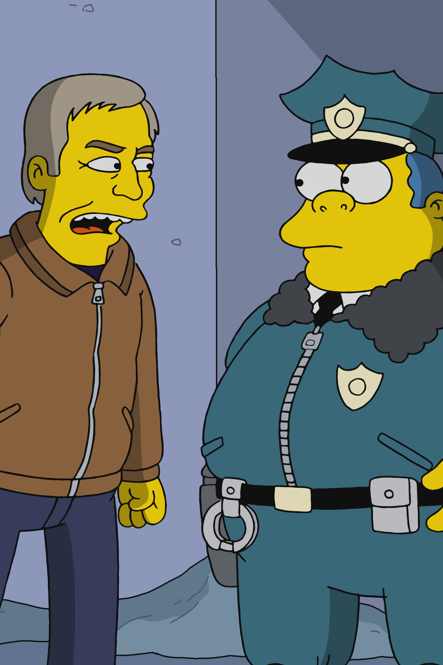 Les Simpson - Bobby, il fait froid dehors