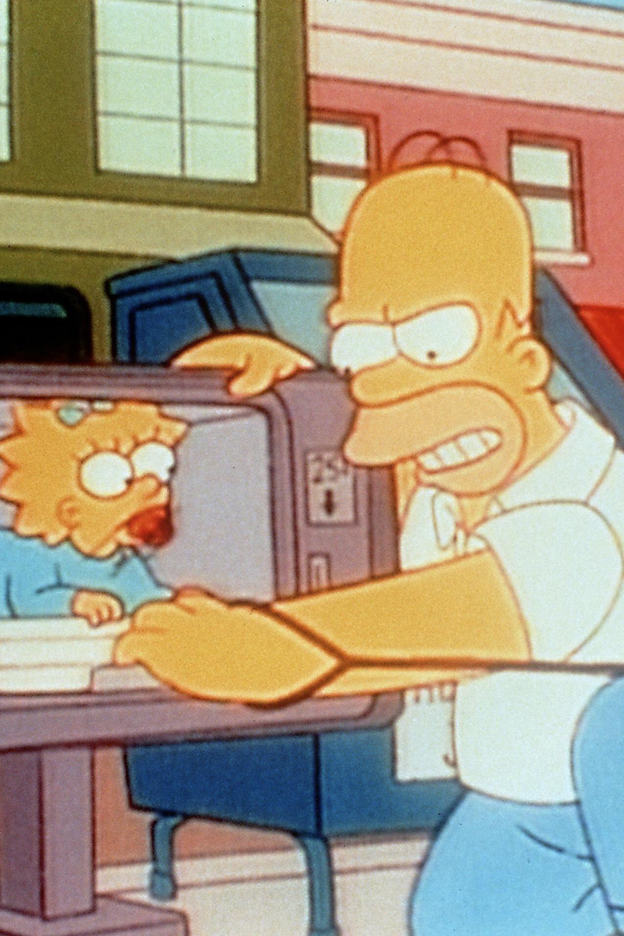 Les Simpson - Premier pas dans le grand monde
