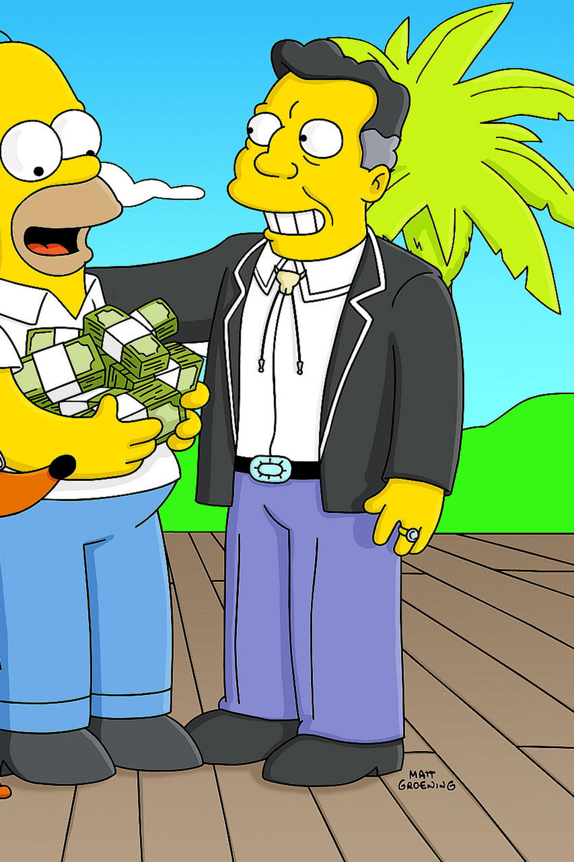 Les Simpson - Le chien-chien à son Homer