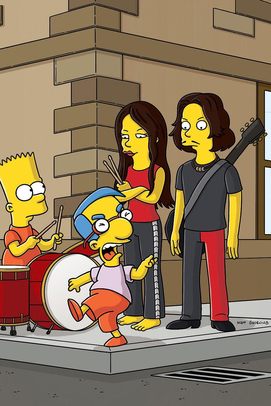 Les Simpson - Les baguettes magiques