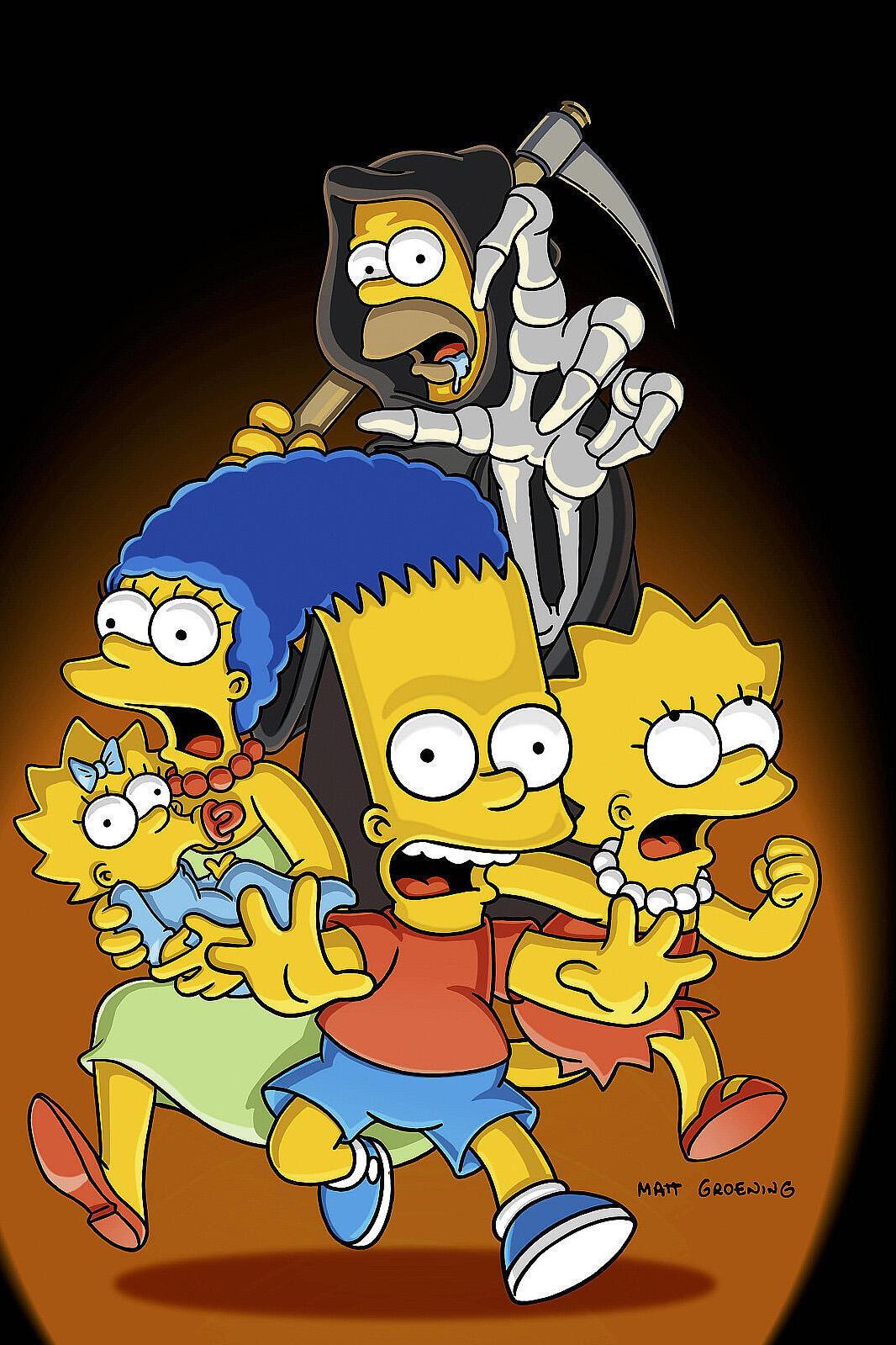 Les Simpson - Simpson Horror Show XIV